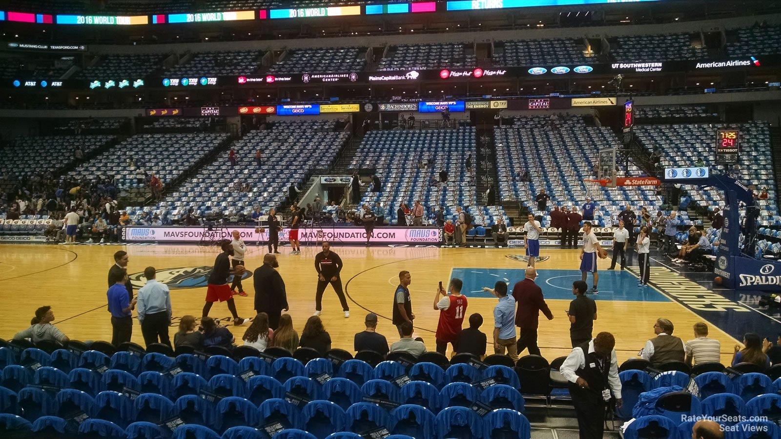 Dallas Mavericks Seating Chart