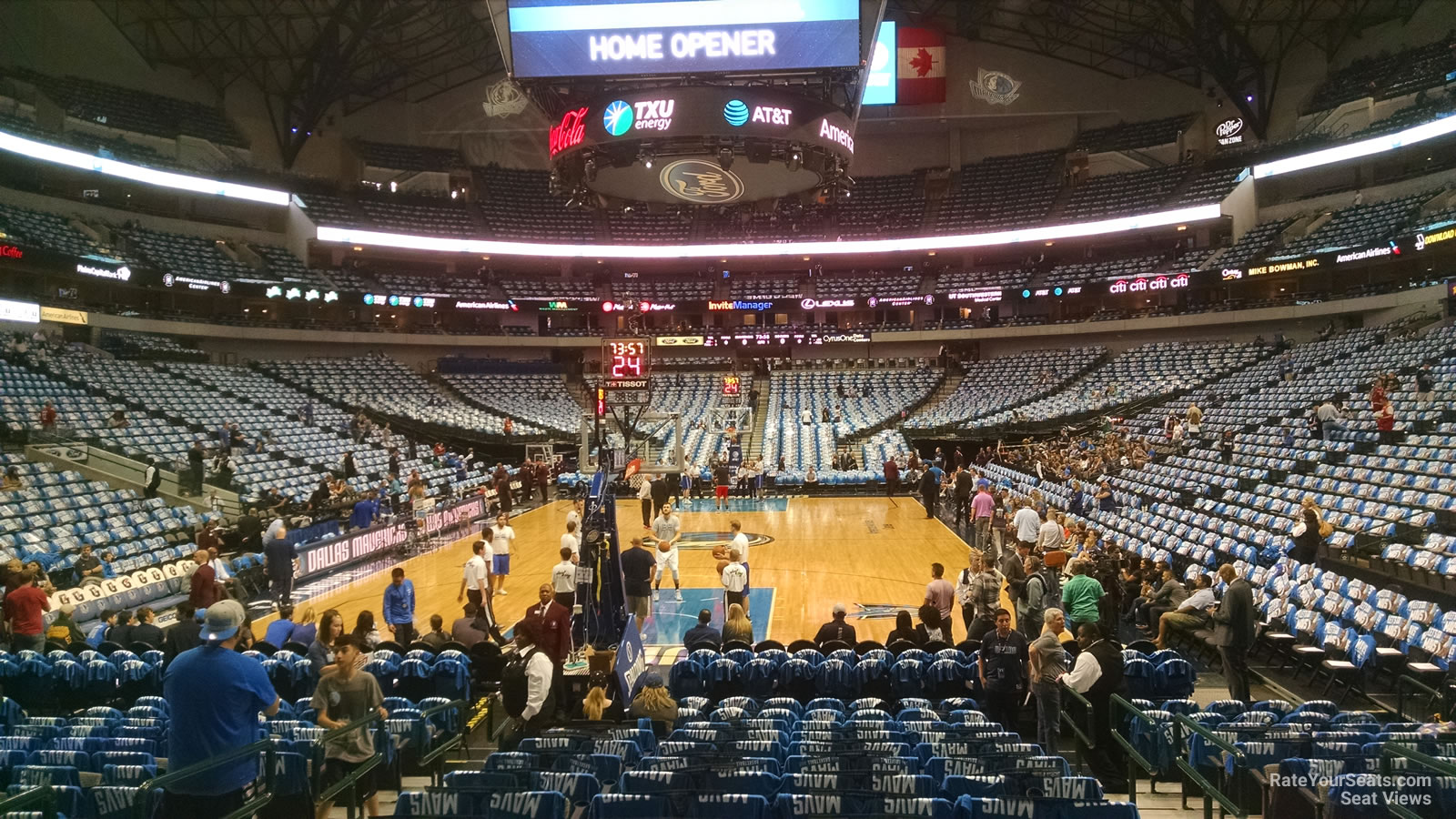 American Airlines Center Section 112 Dallas Mavericks