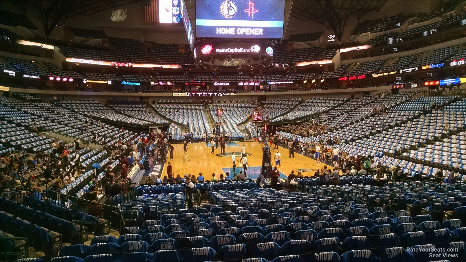 American Airlines Center Section 113 Dallas Mavericks