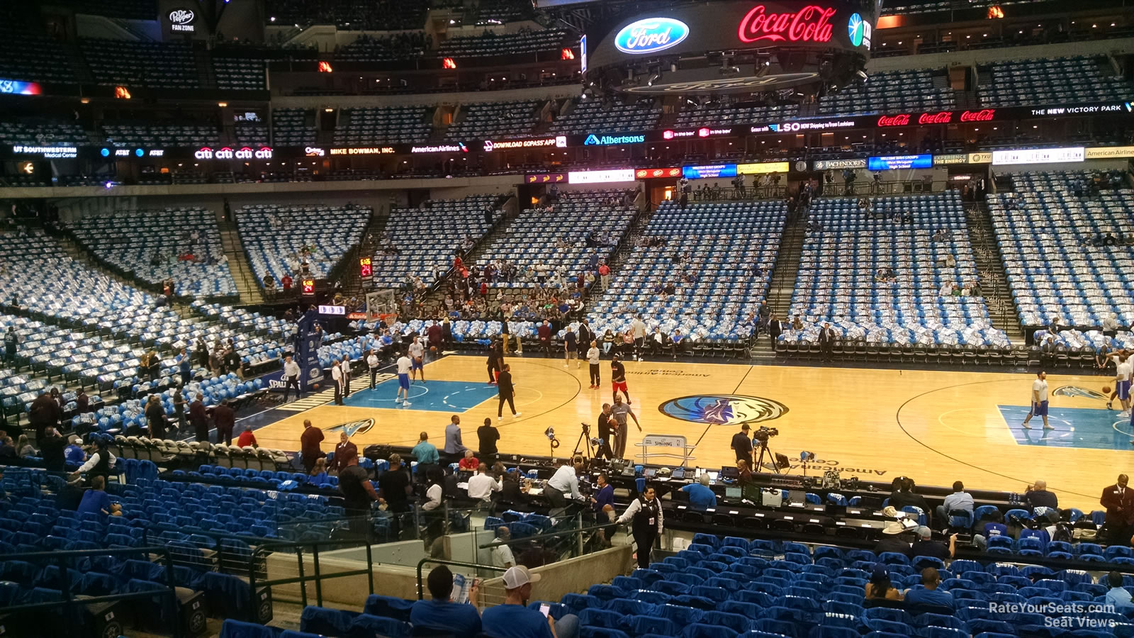 Section 118 seat view