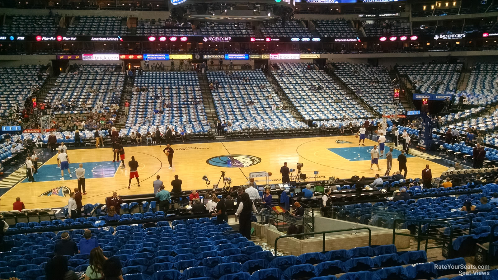 Section 119 seat view