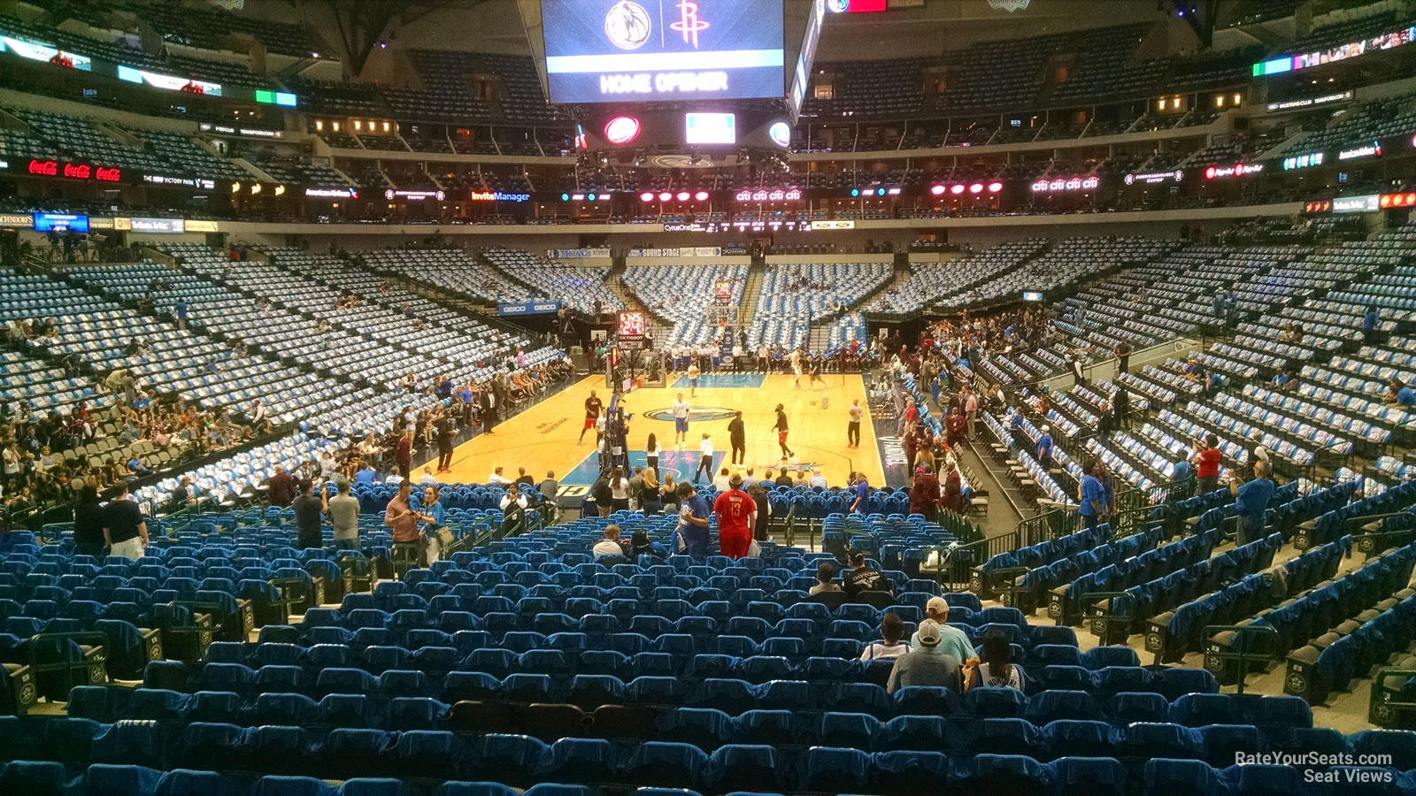 Section 124 seat view