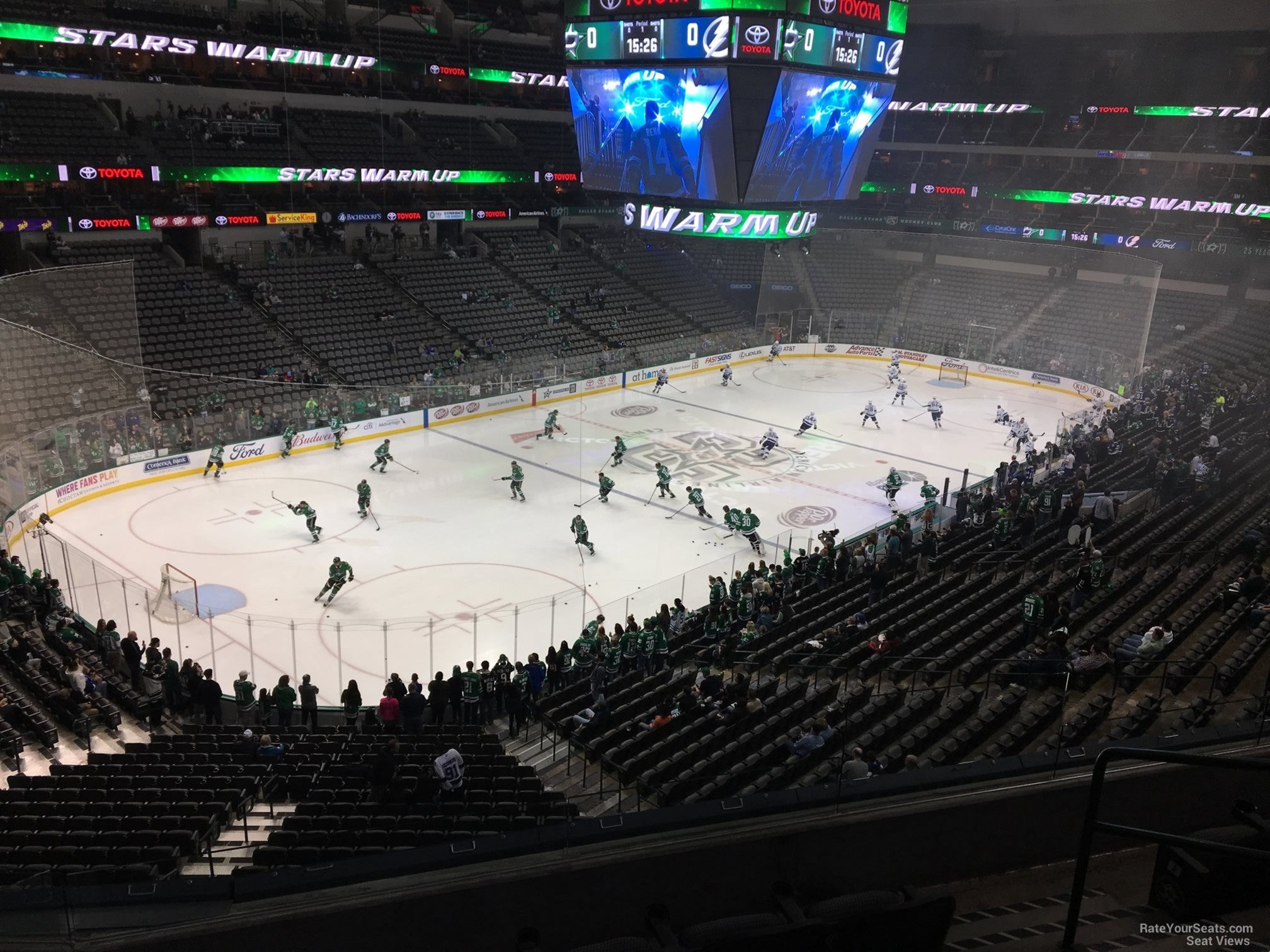 American Airlines Center Section 221 Dallas Stars