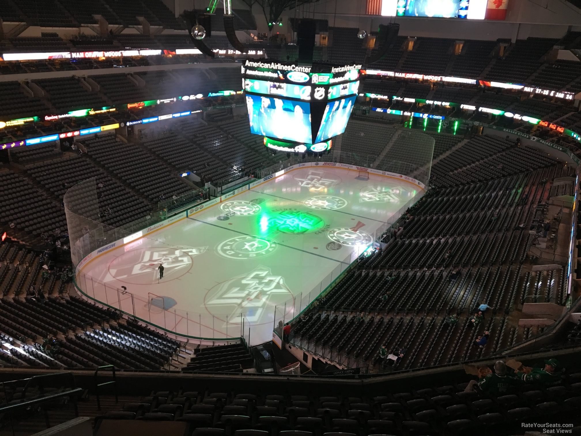 American Airlines Center Section 315 Dallas Stars