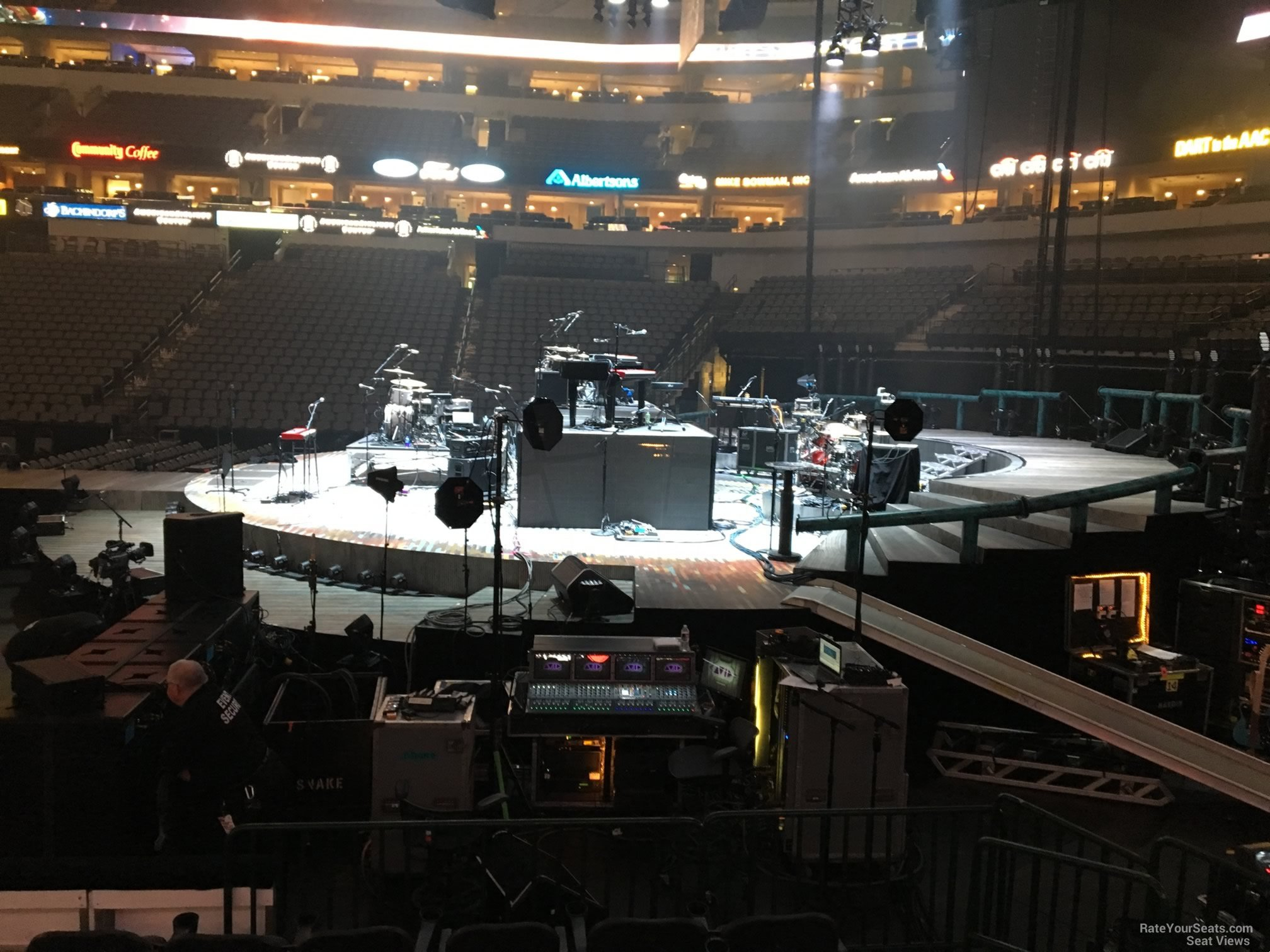 American Airlines Center Section 104 Concert Seating