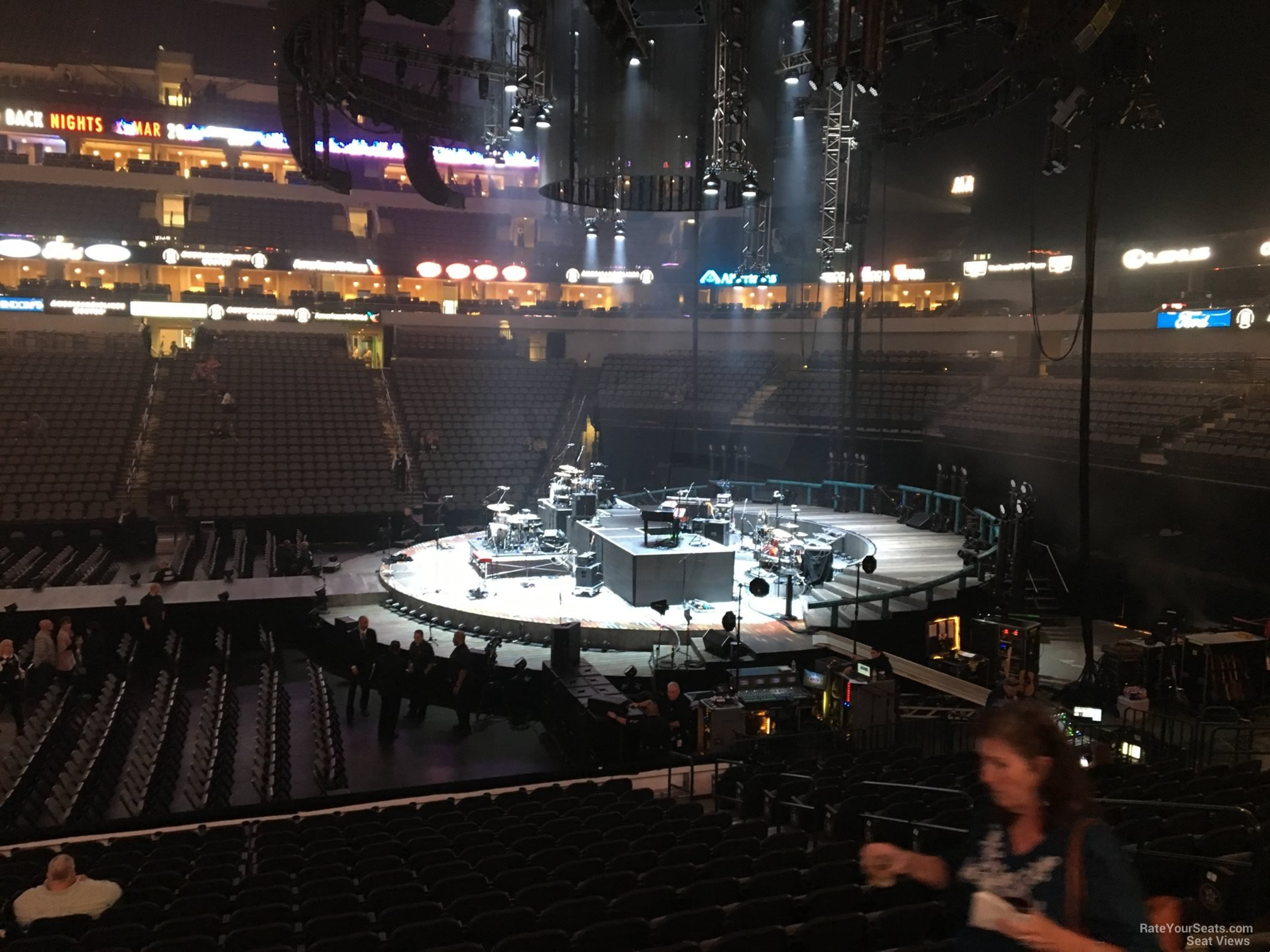 American Airlines Center Section 105 Concert Seating