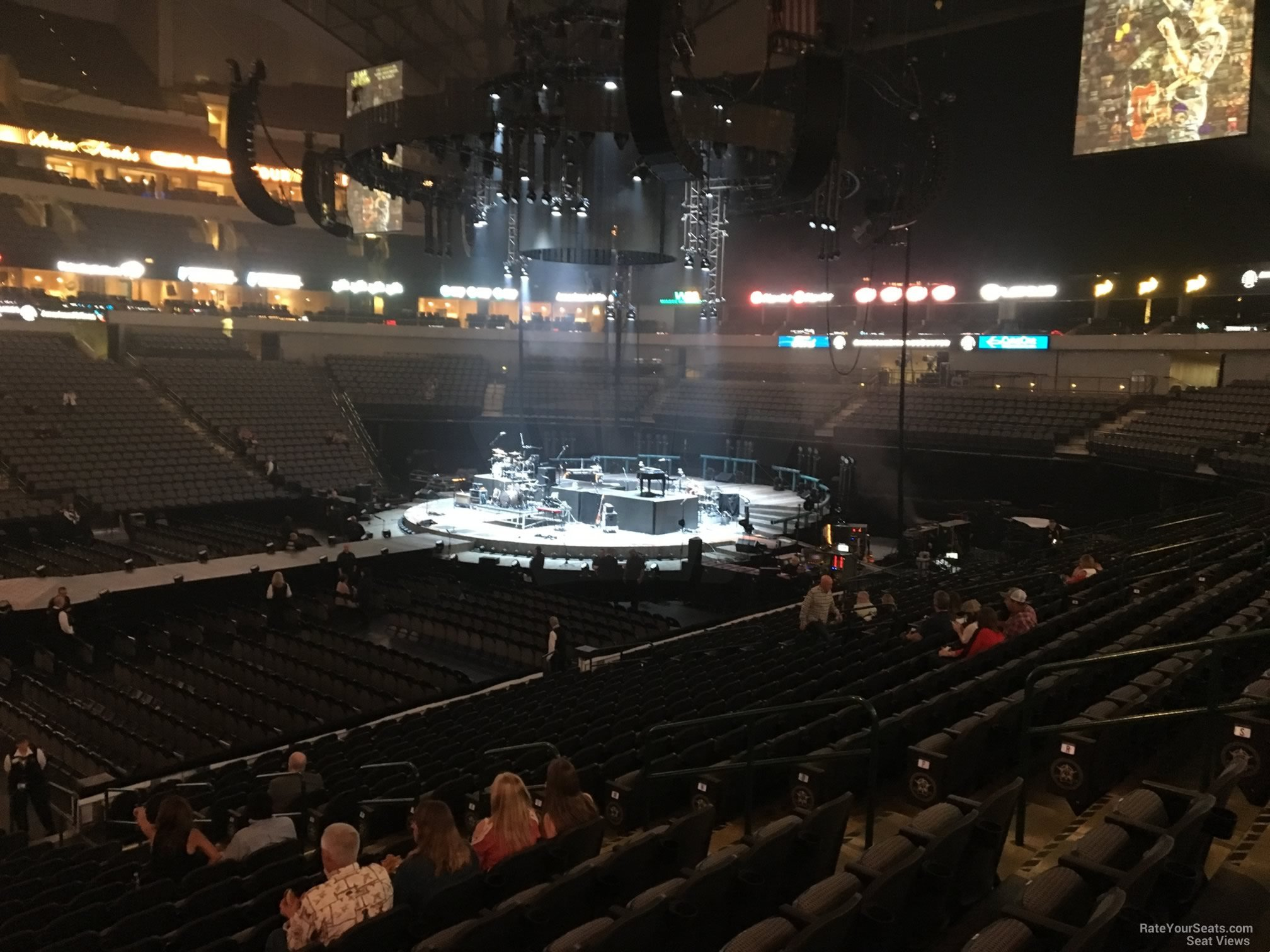 American Airlines Center Section 107 Concert Seating