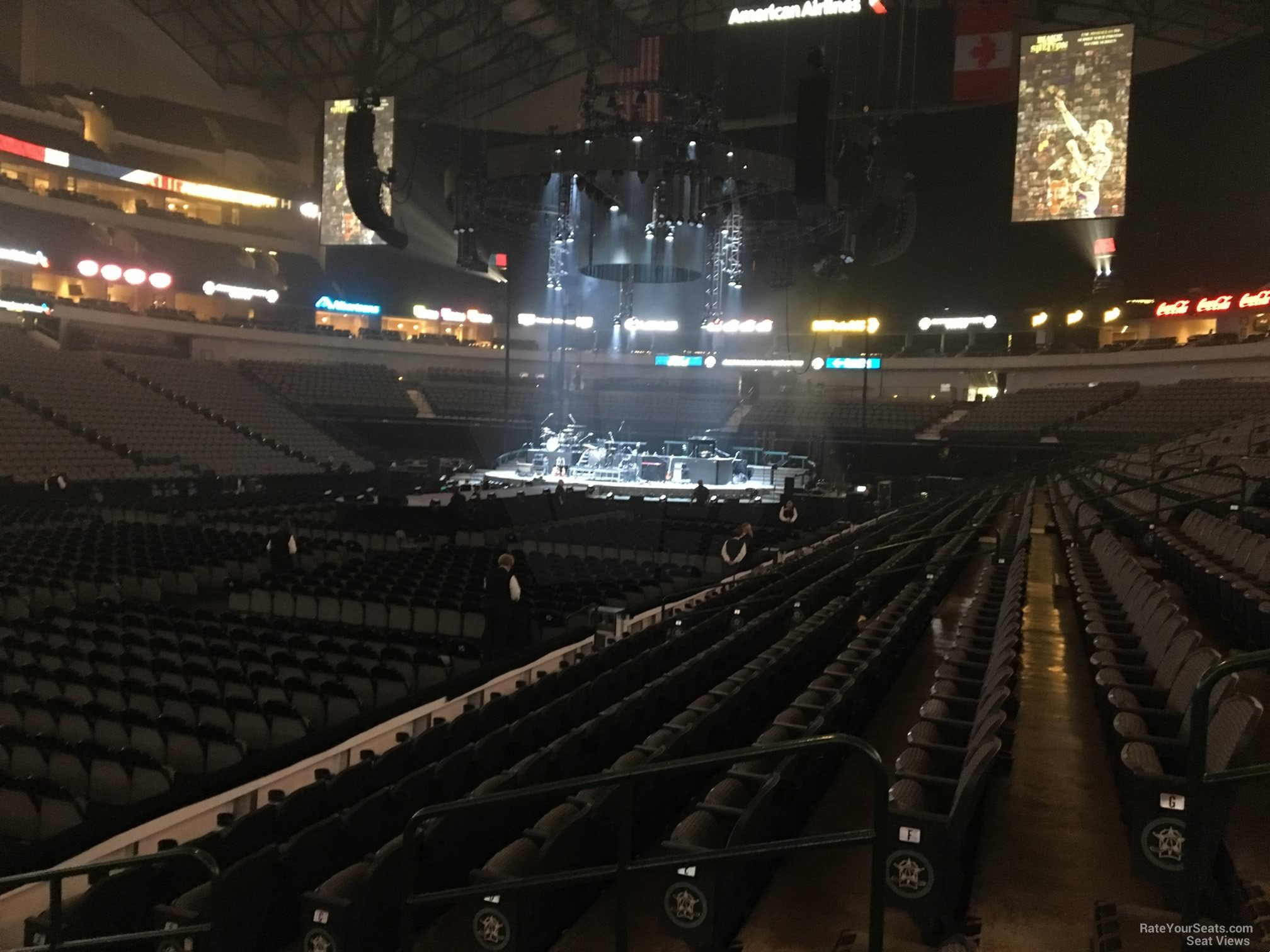 American Airlines Center Section 109 Concert Seating