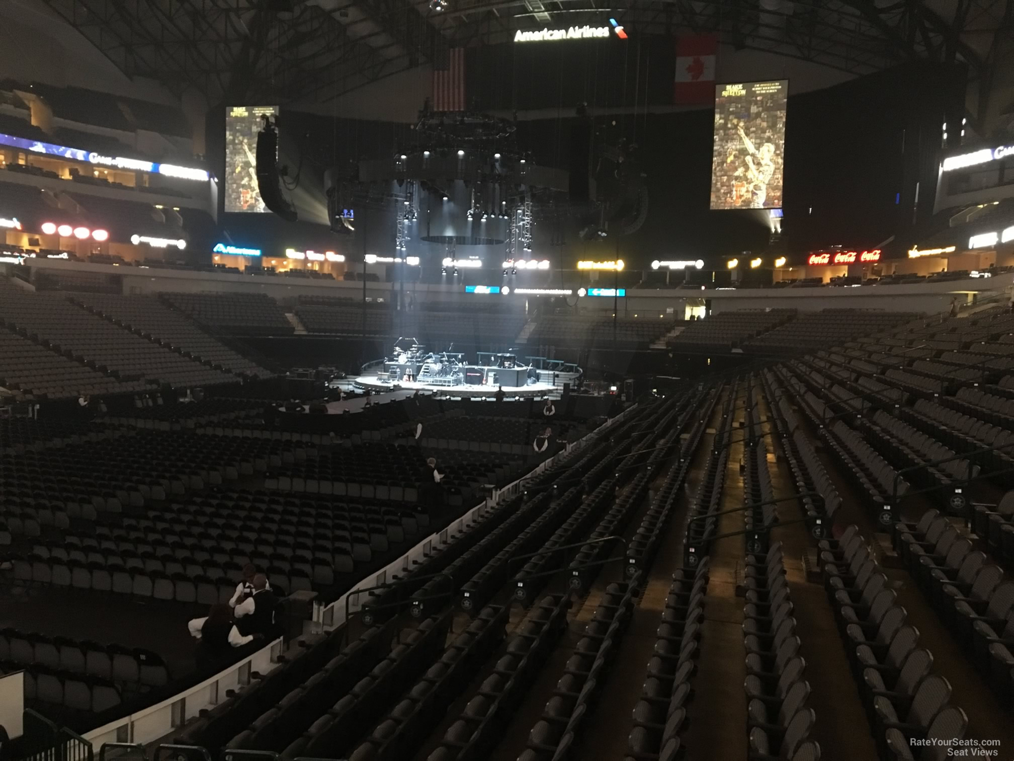 American Airlines Center Section 110 Concert Seating