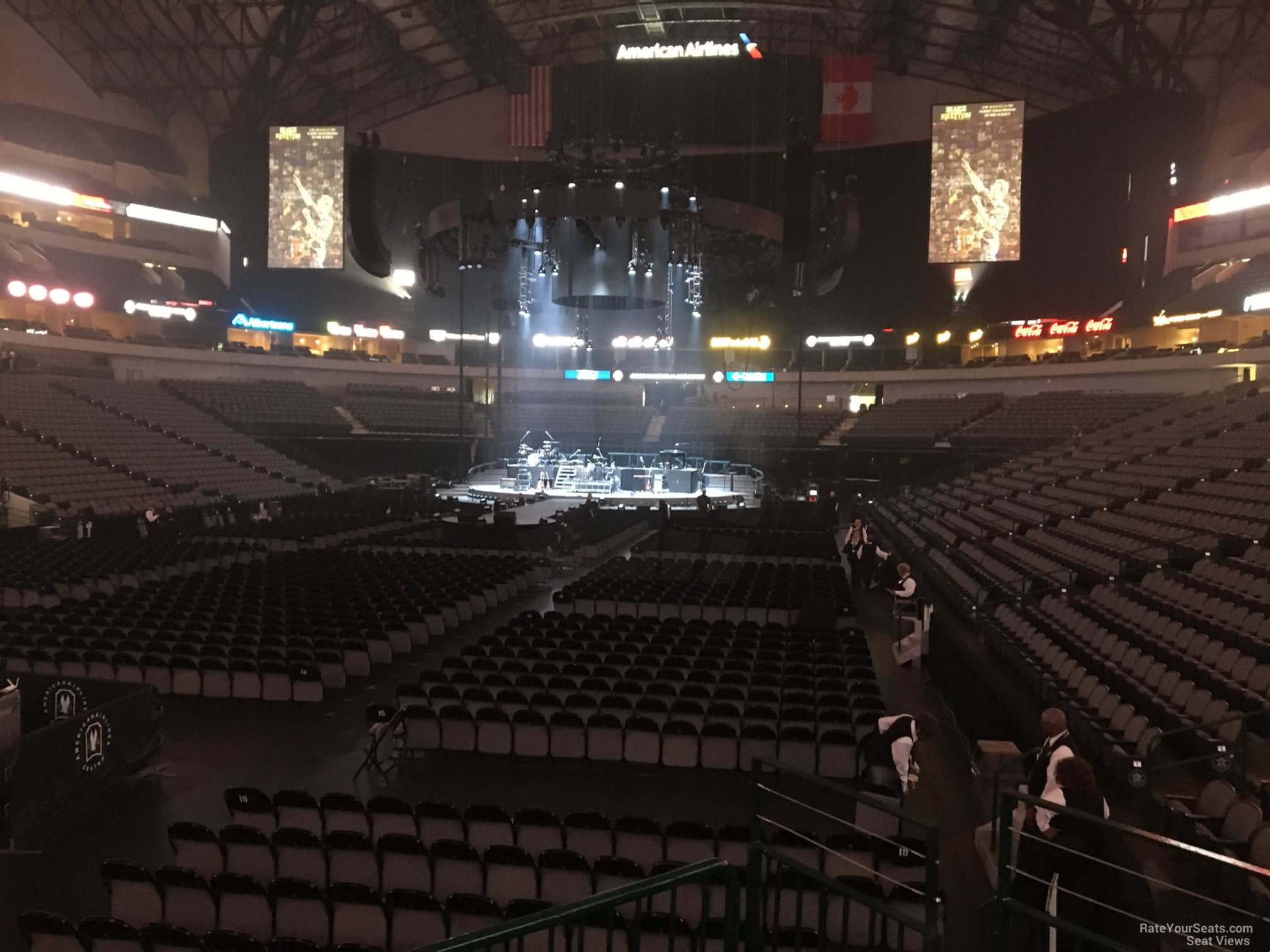 American Airlines Center Section 111 Concert Seating