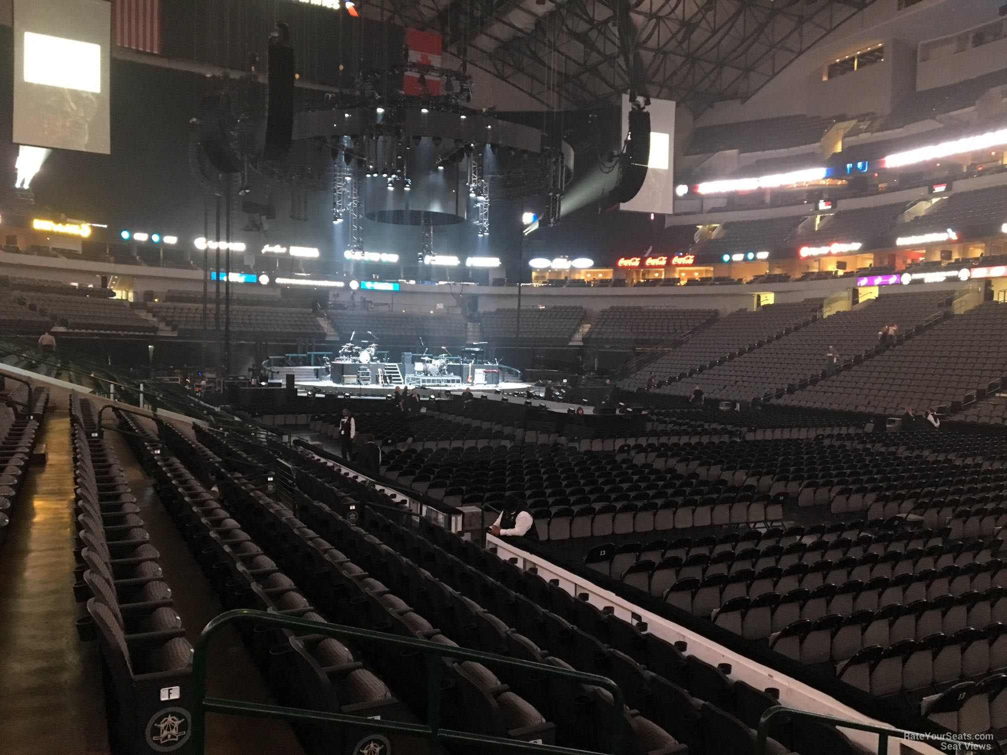 American Airlines Center Section 116 Concert Seating