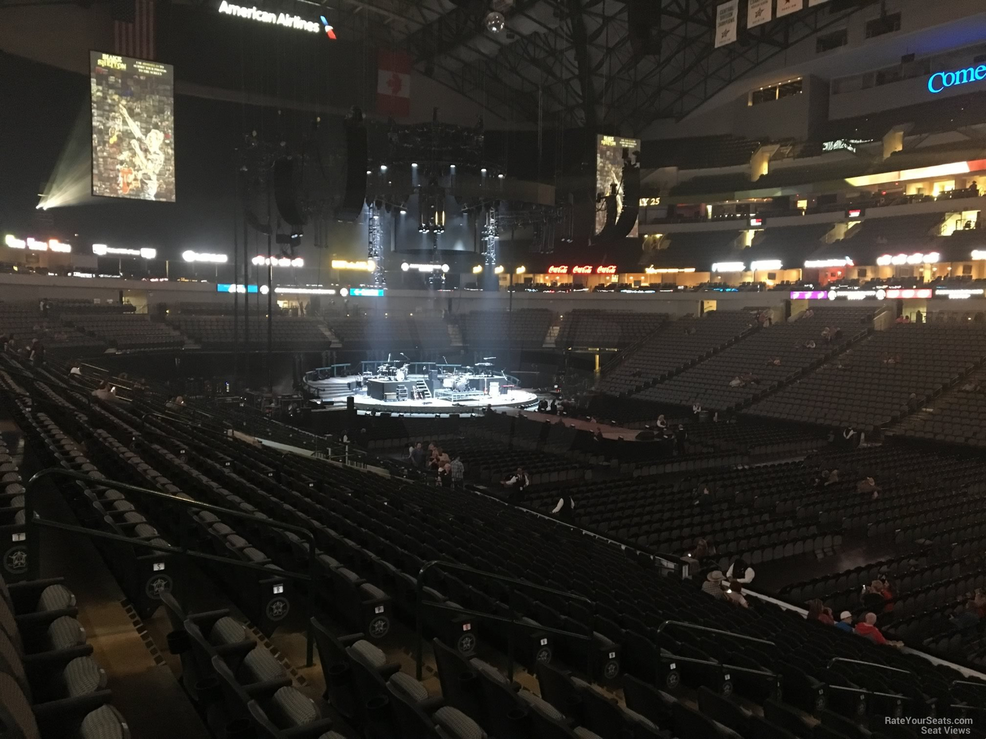 American Airlines Center Section 116 Concert Seating Rateyourseats Com