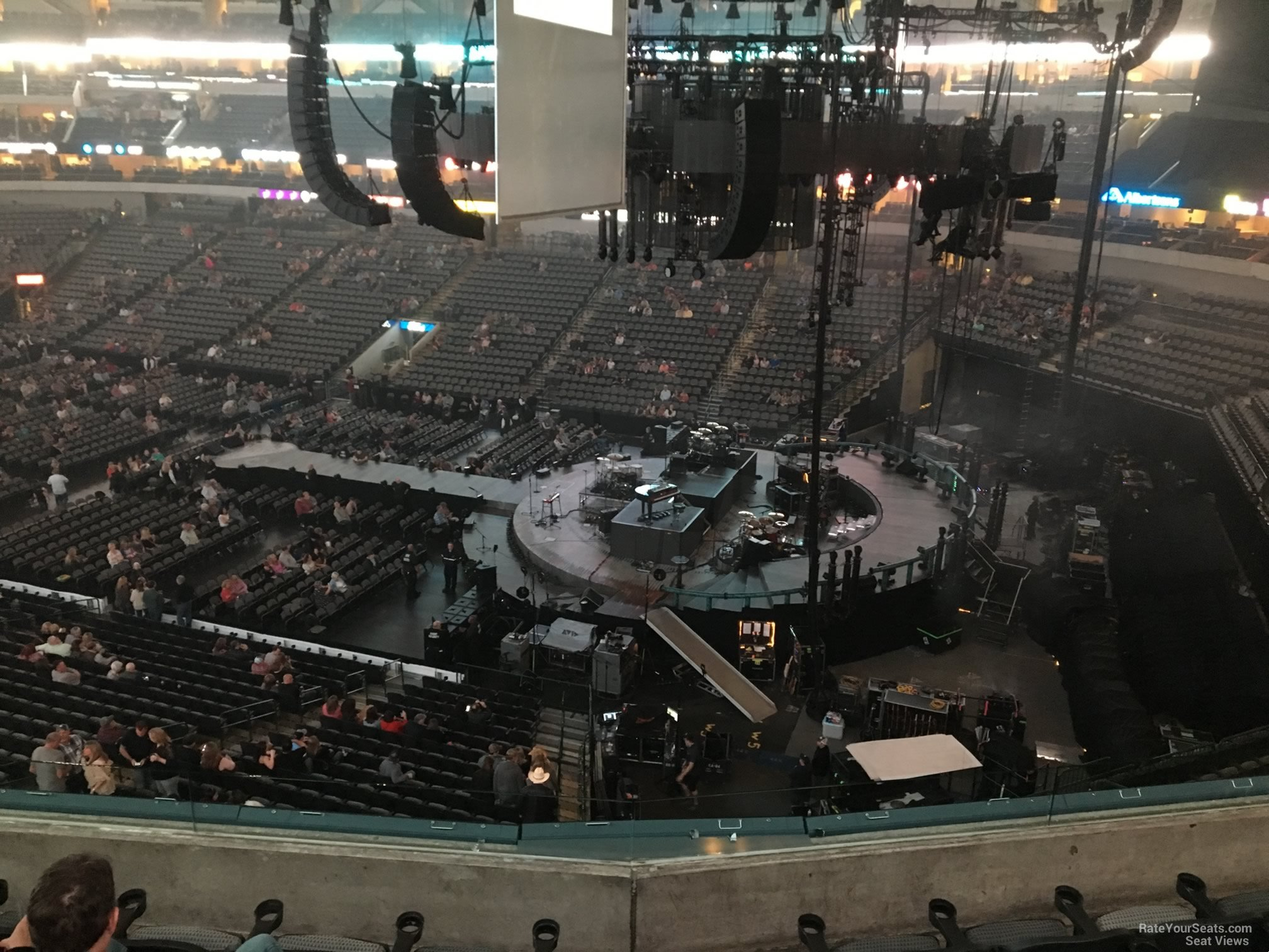 American Airlines Center Section 206 Concert Seating