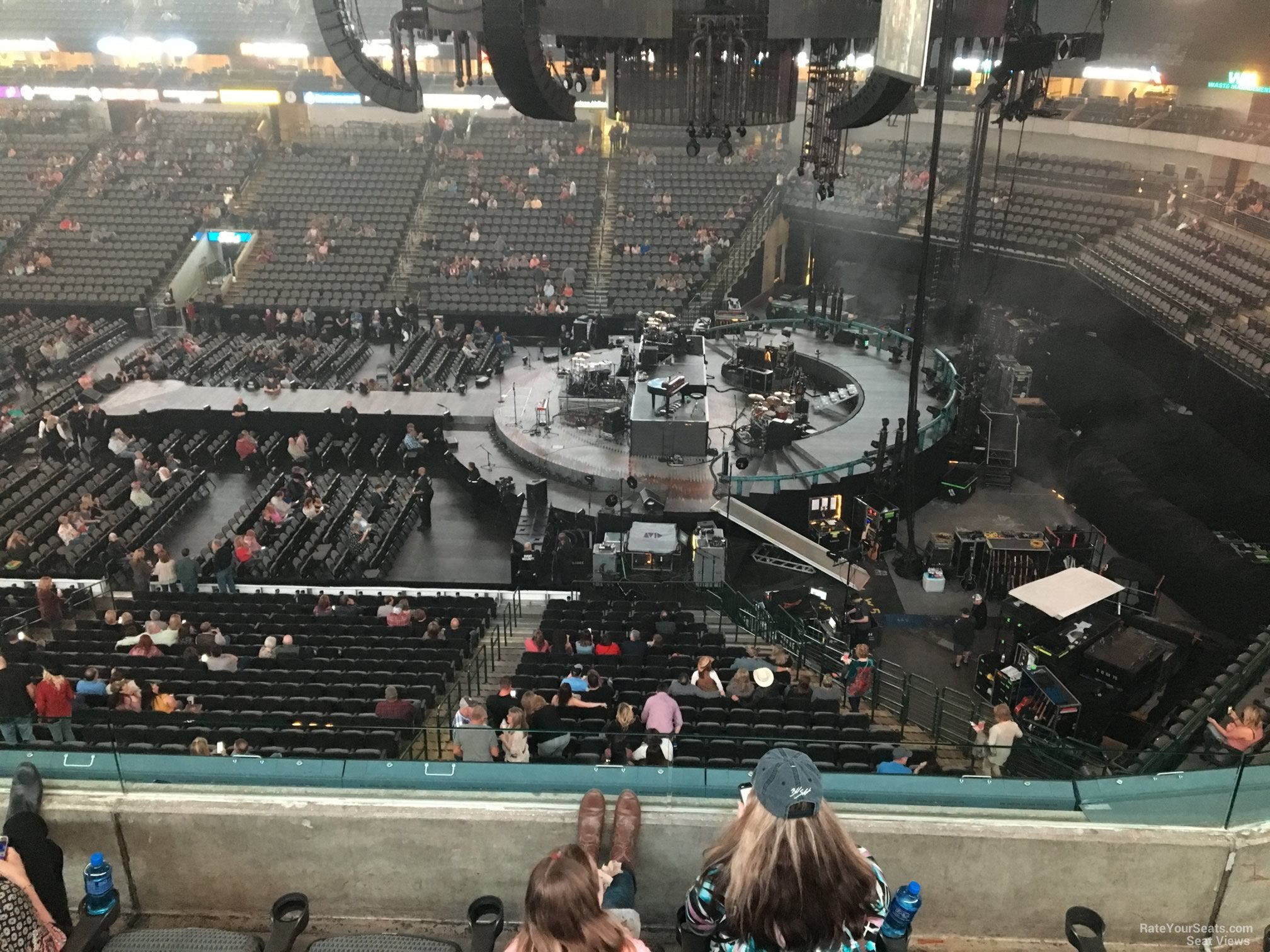 Concert Seat View for American Airlines Center Section 207, Row E