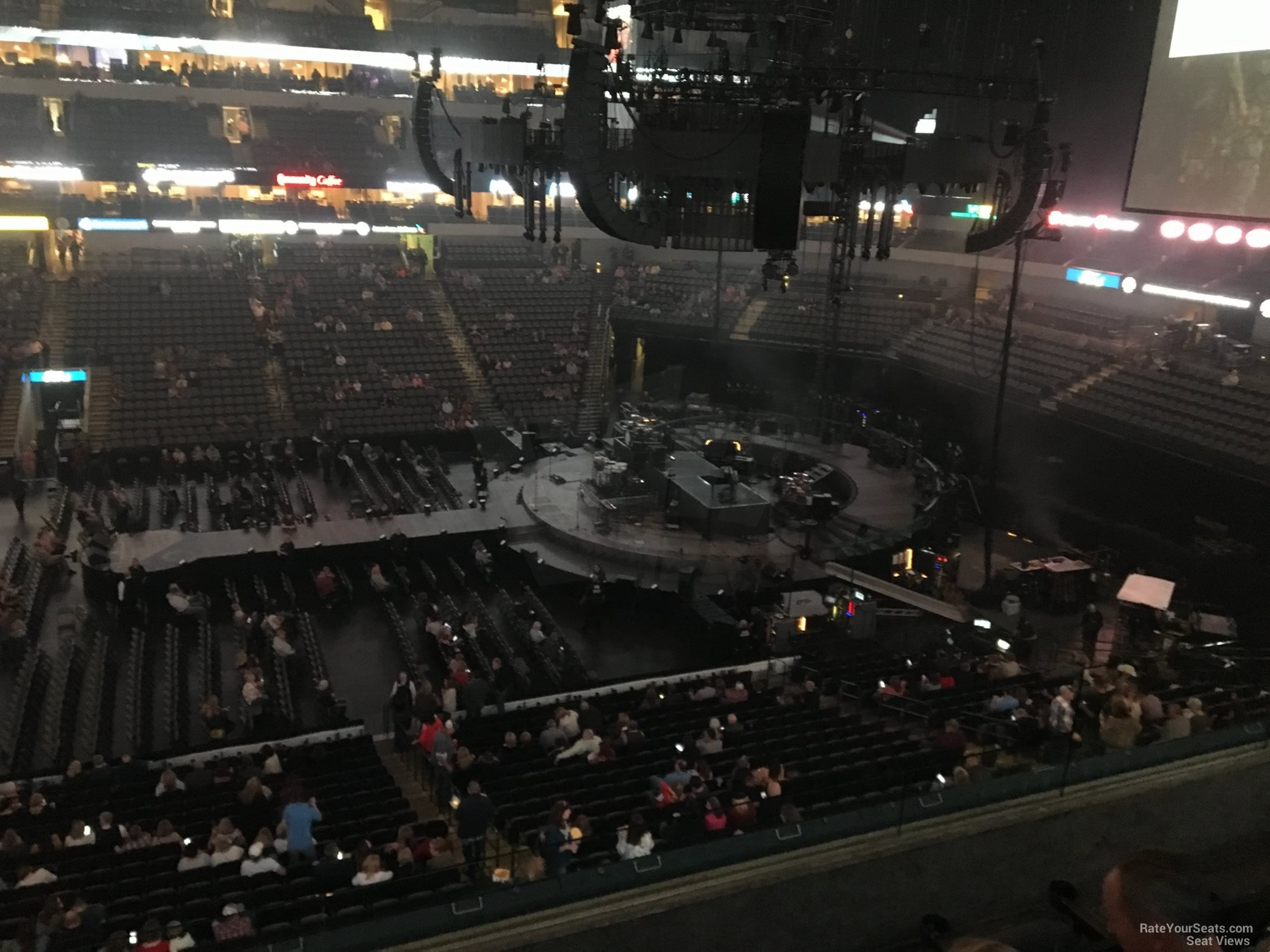 Concert Seat View for American Airlines Center Section 209, Row D