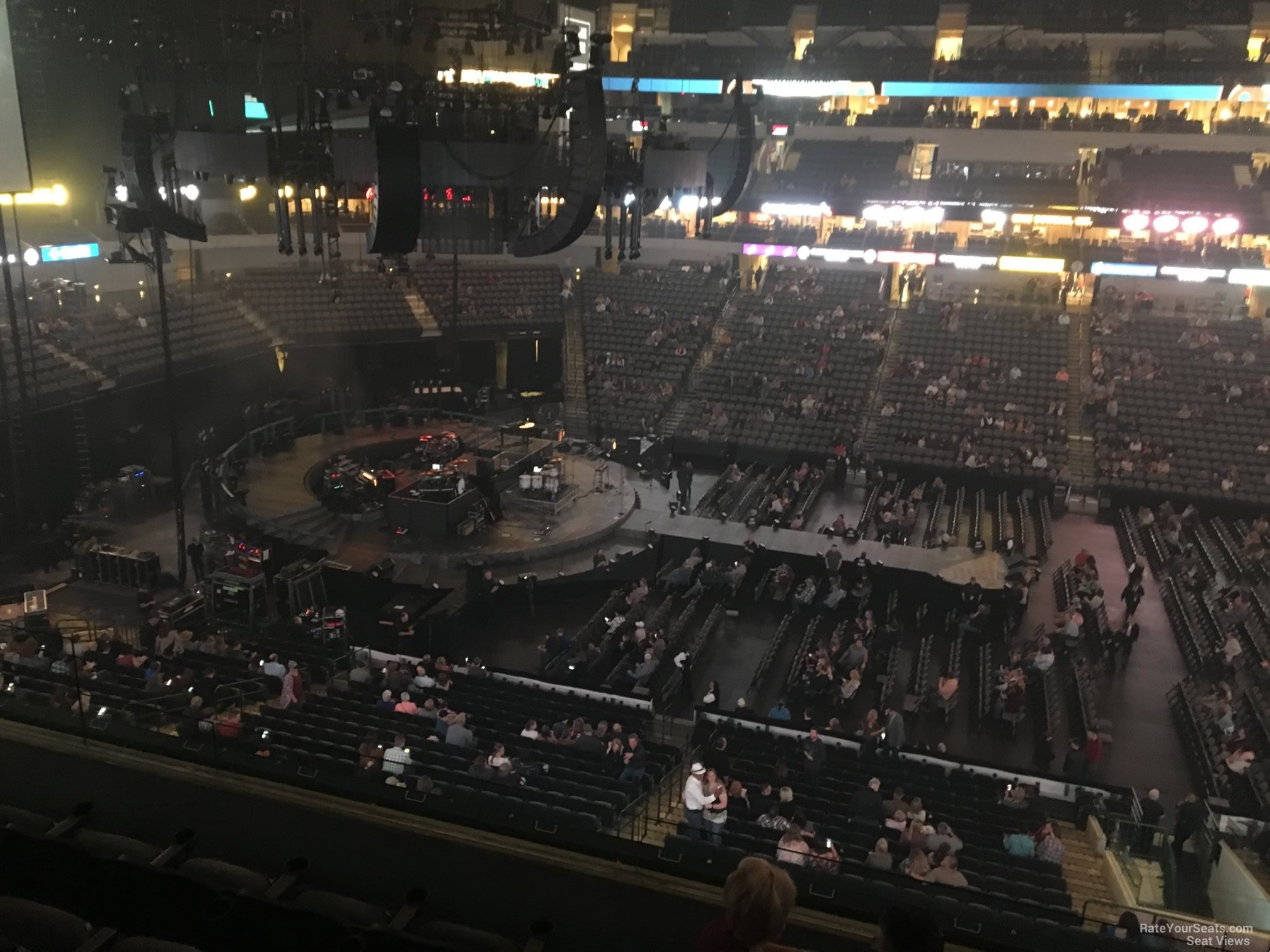 American Airlines Center Section 218 Concert Seating