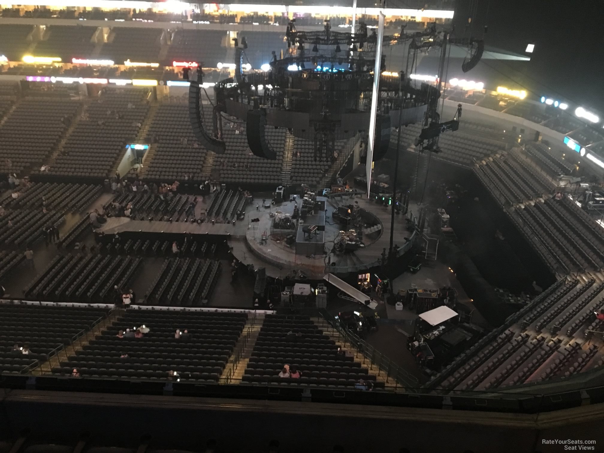 American Airlines Center Section 307 Concert Seating