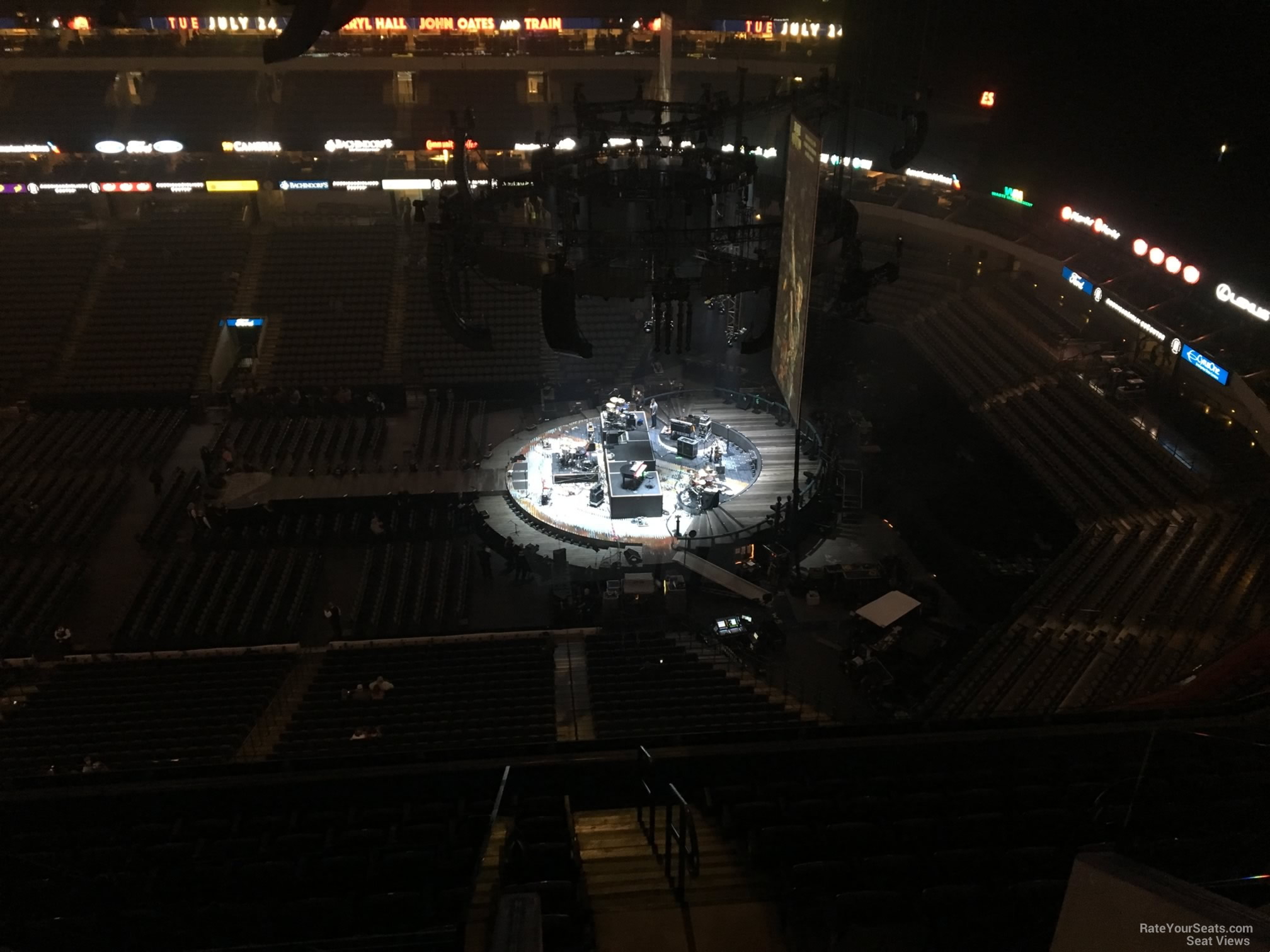 American Airlines Center Section 309 Concert Seating