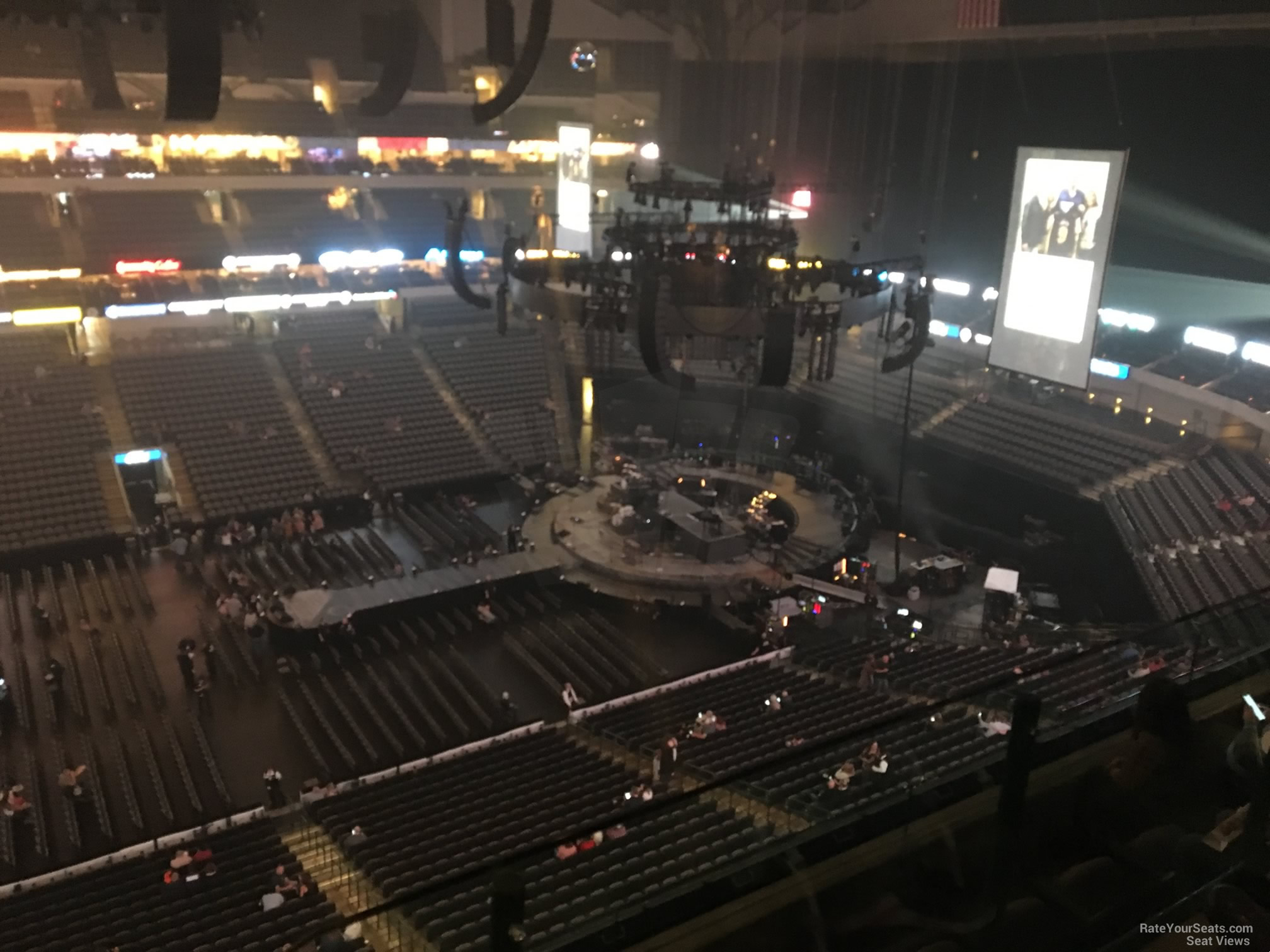 American Airlines Center Section 310 Concert Seating