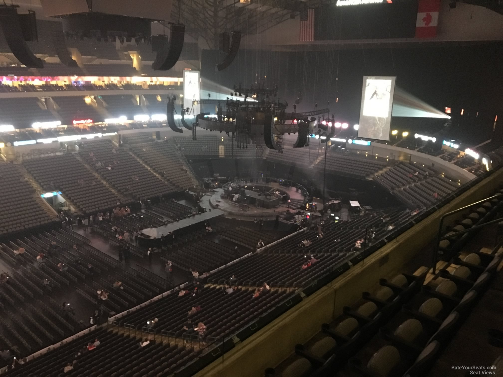 Concert Seat View for American Airlines Center Section 312, Row E