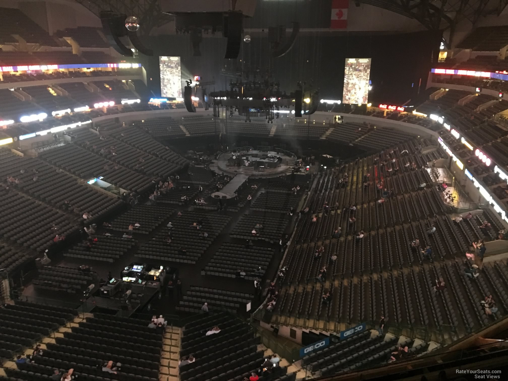 American Airlines Center Section 316 Concert Seating