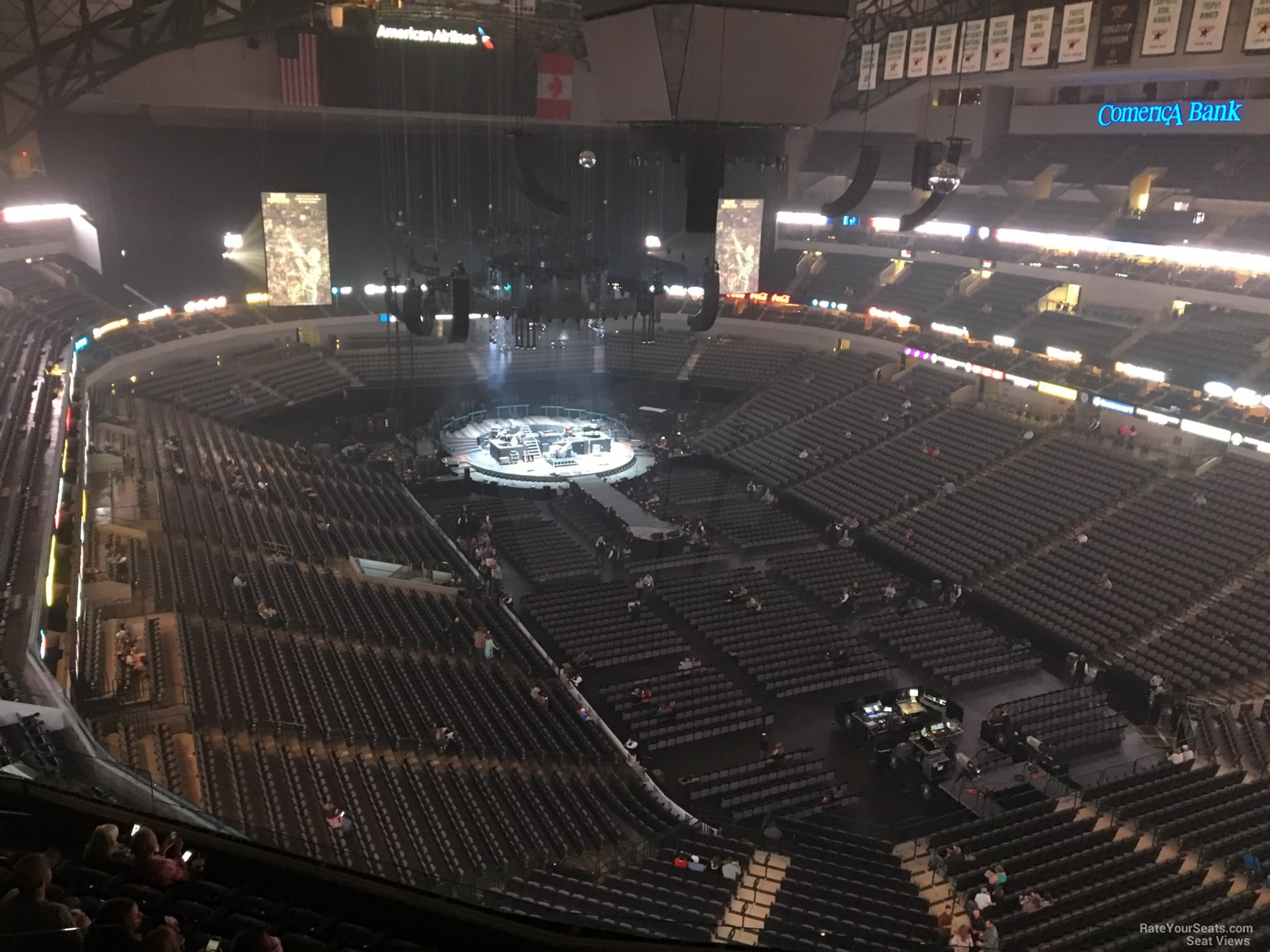American Airlines Center Section 321 Concert Seating