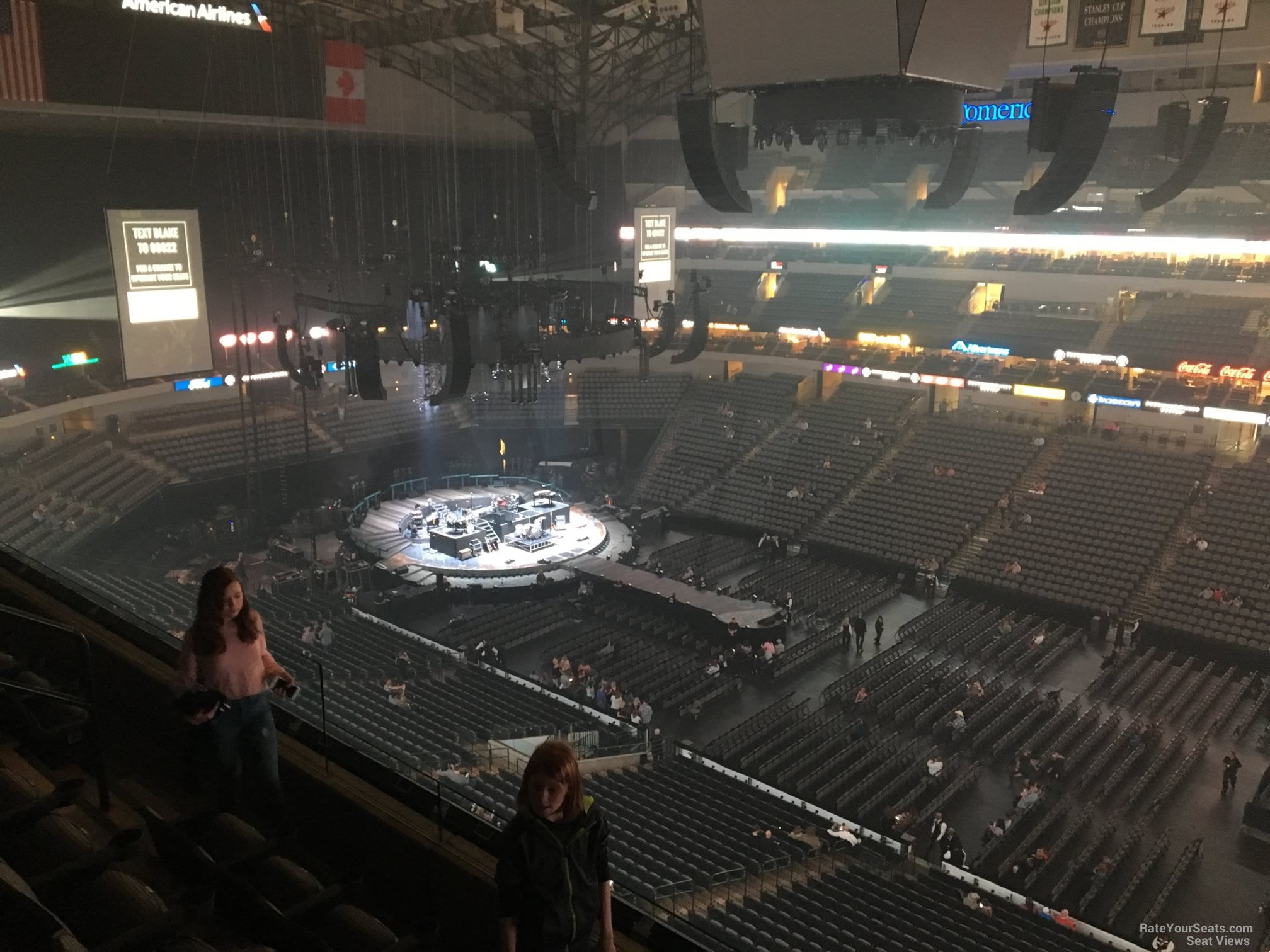 Concert Seat View for American Airlines Center Section 324, ...