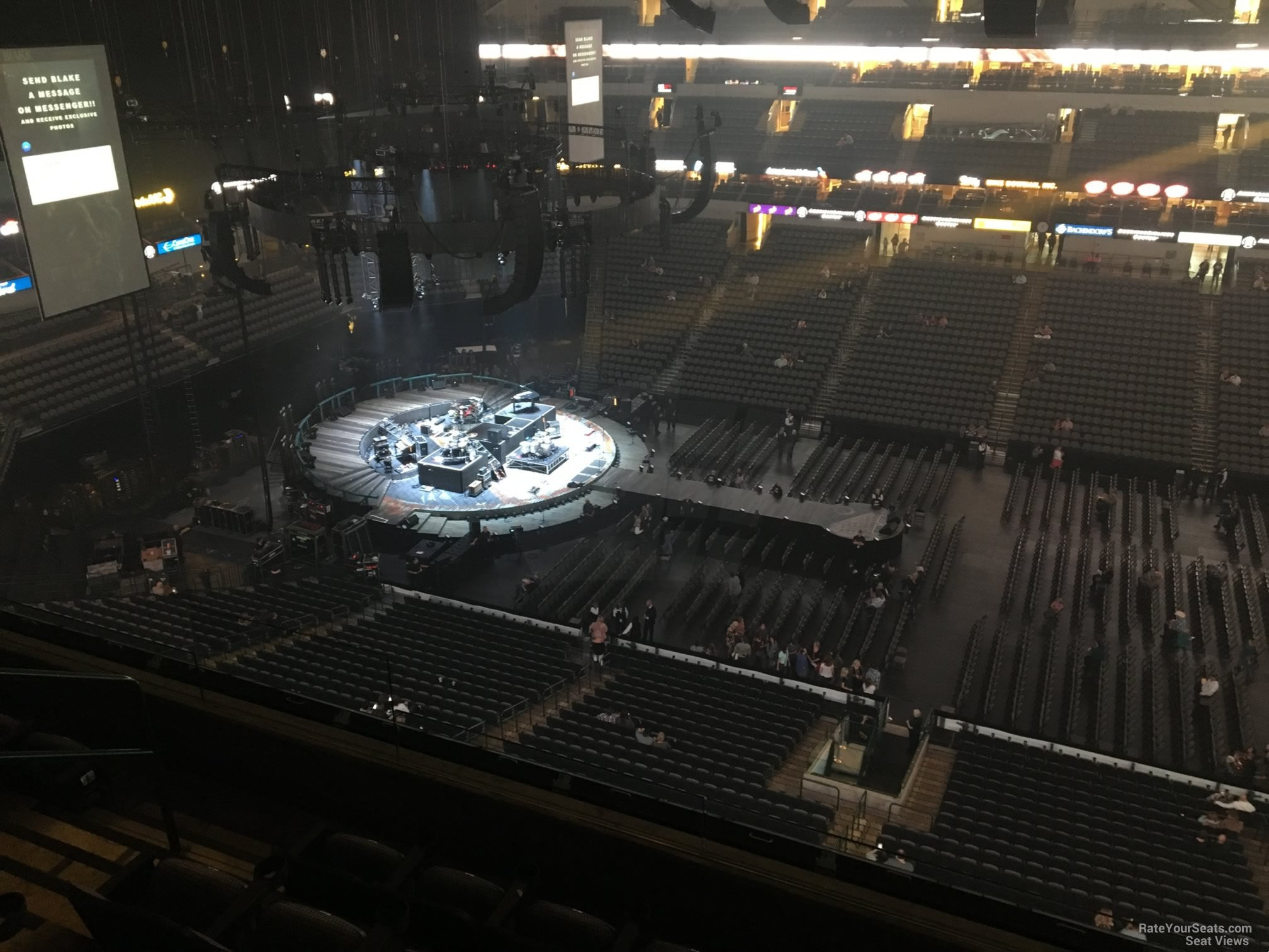 Concert Seat View for American Airlines Center Section 326, Row E