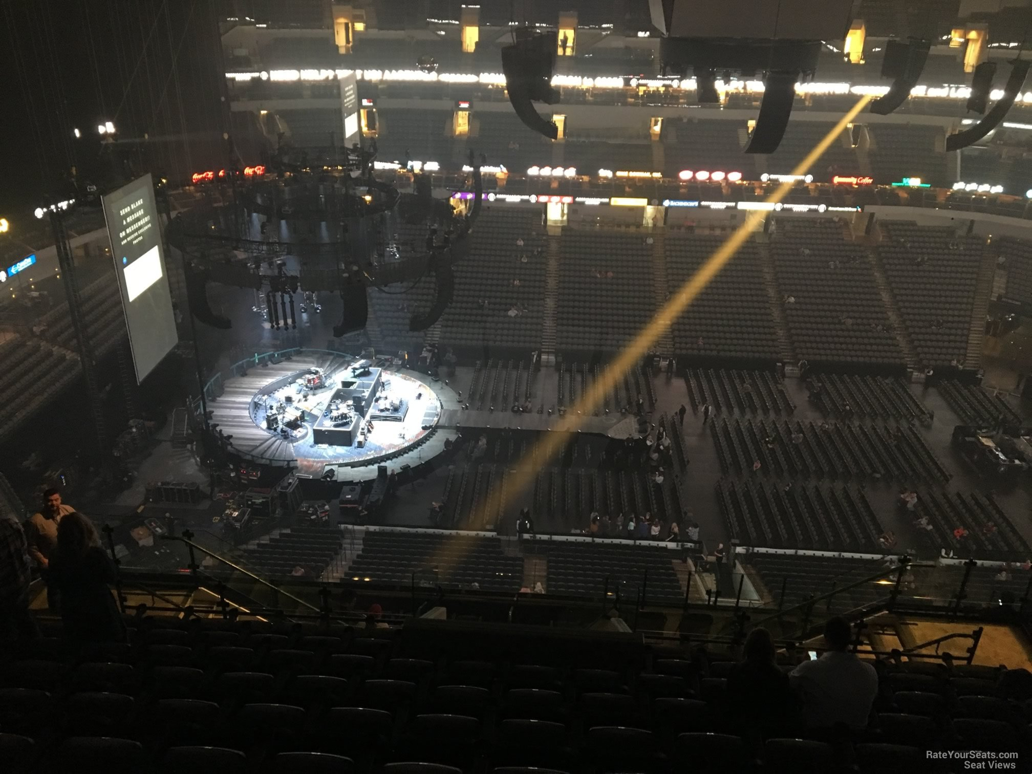 American Airlines Center Section 327 Concert Seating