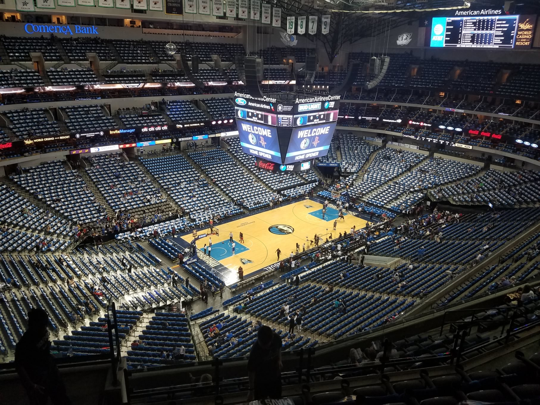 American Airlines Center Section 330 Dallas Mavericks