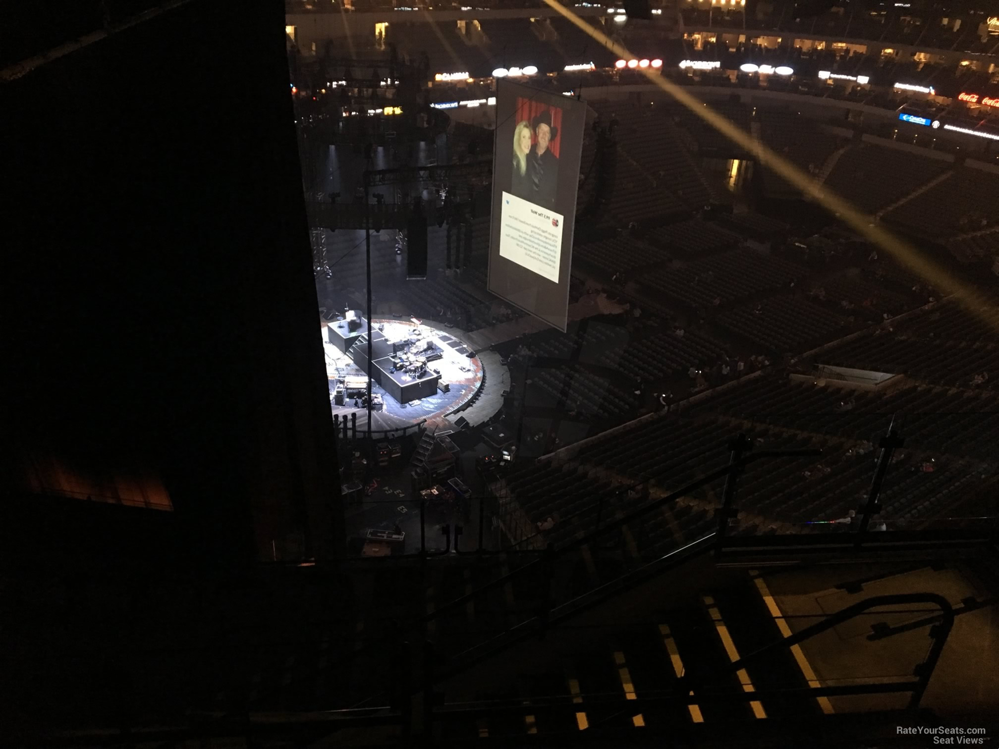 Concert Seat View for American Airlines Center Section 331, Row K