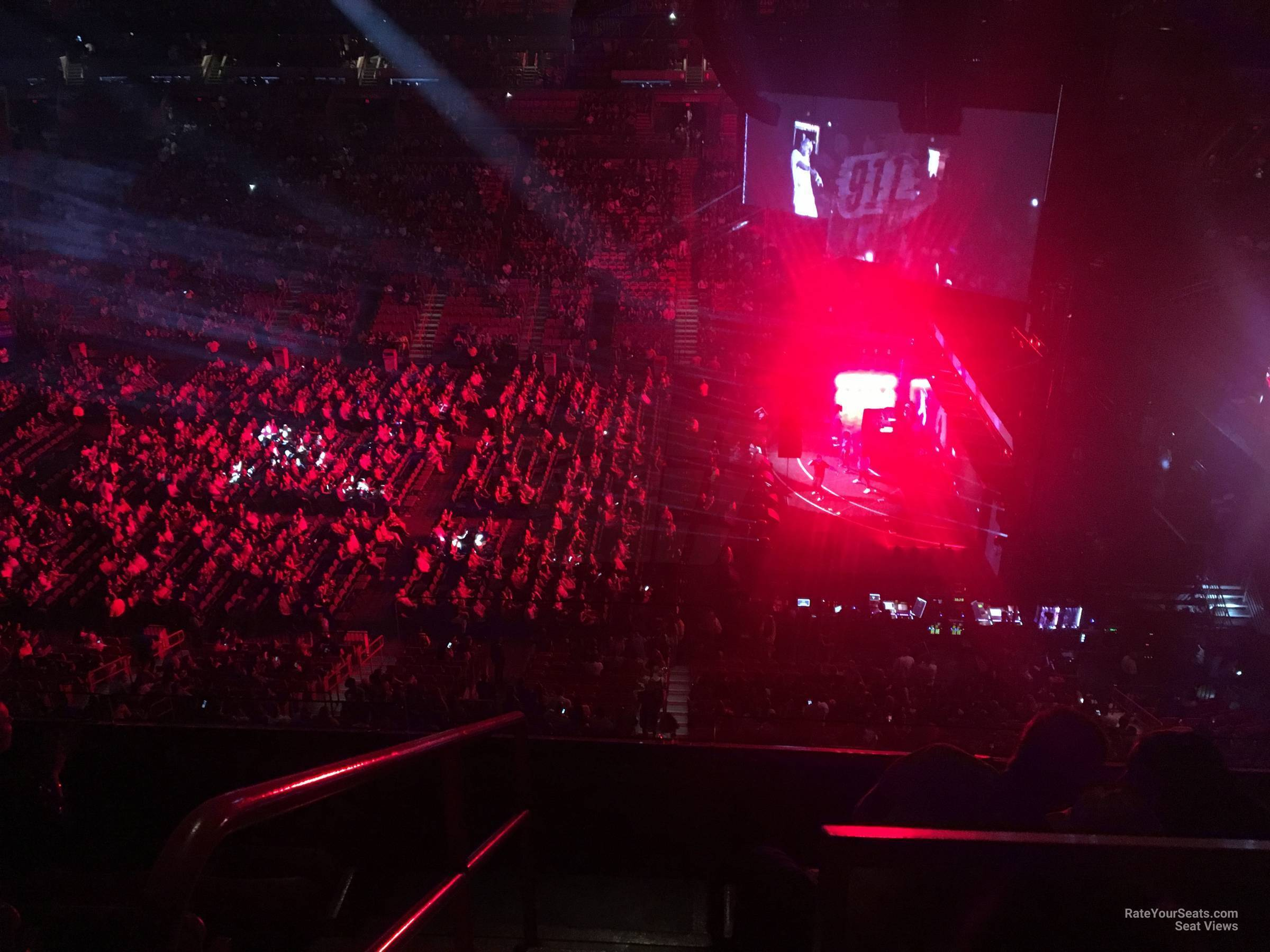 Concert Seat View for AmericanAirlines Arena Section 307, Row 3