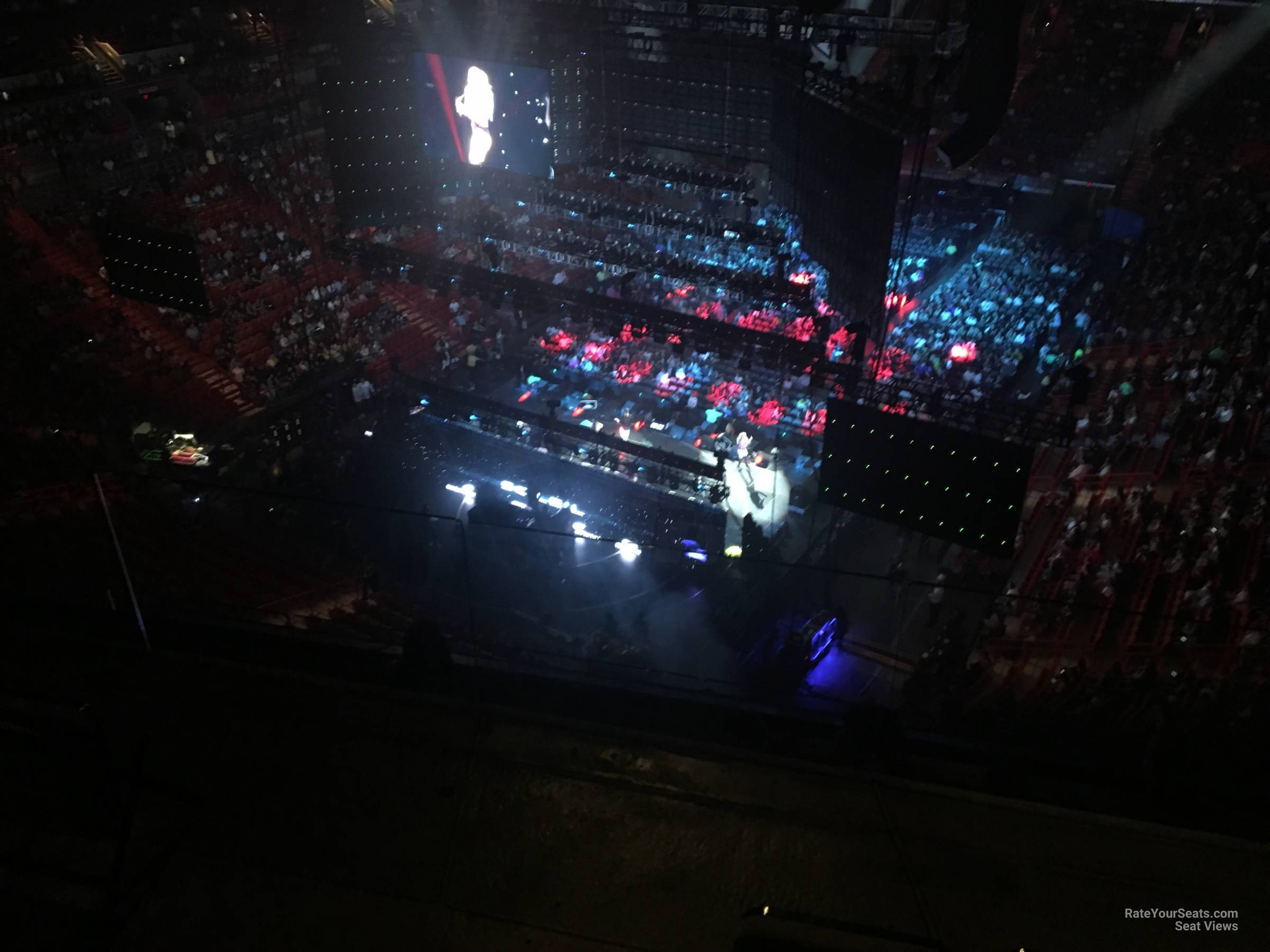 Concert Seat View for AmericanAirlines Arena Section 403, Row 4