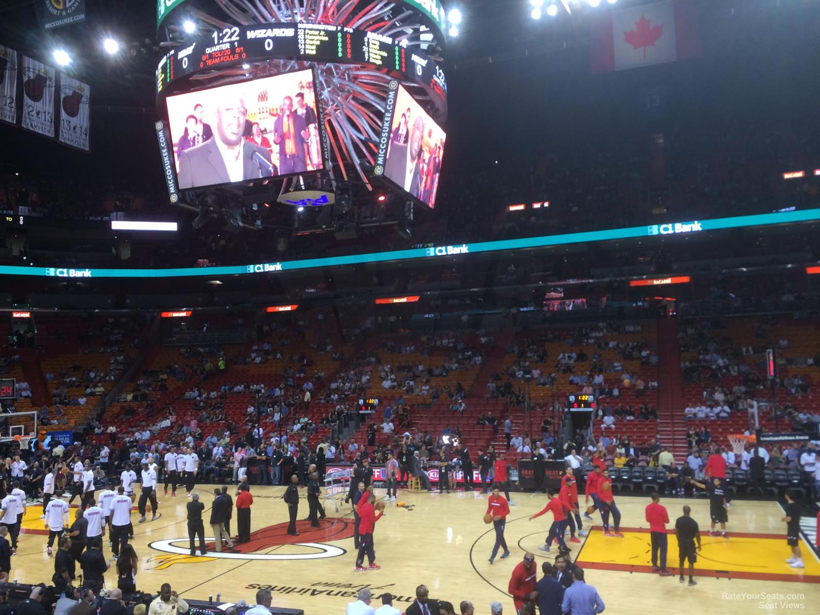 Americanairlines Arena Dewars 105 Miami Heat