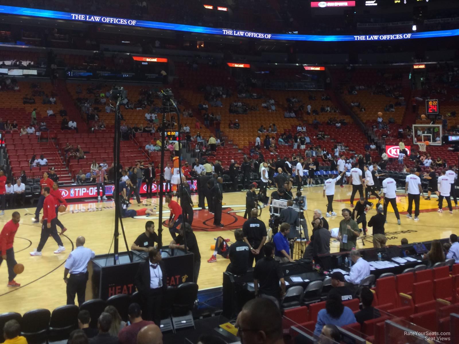Americanairlines Arena Dewars 119 Miami Heat