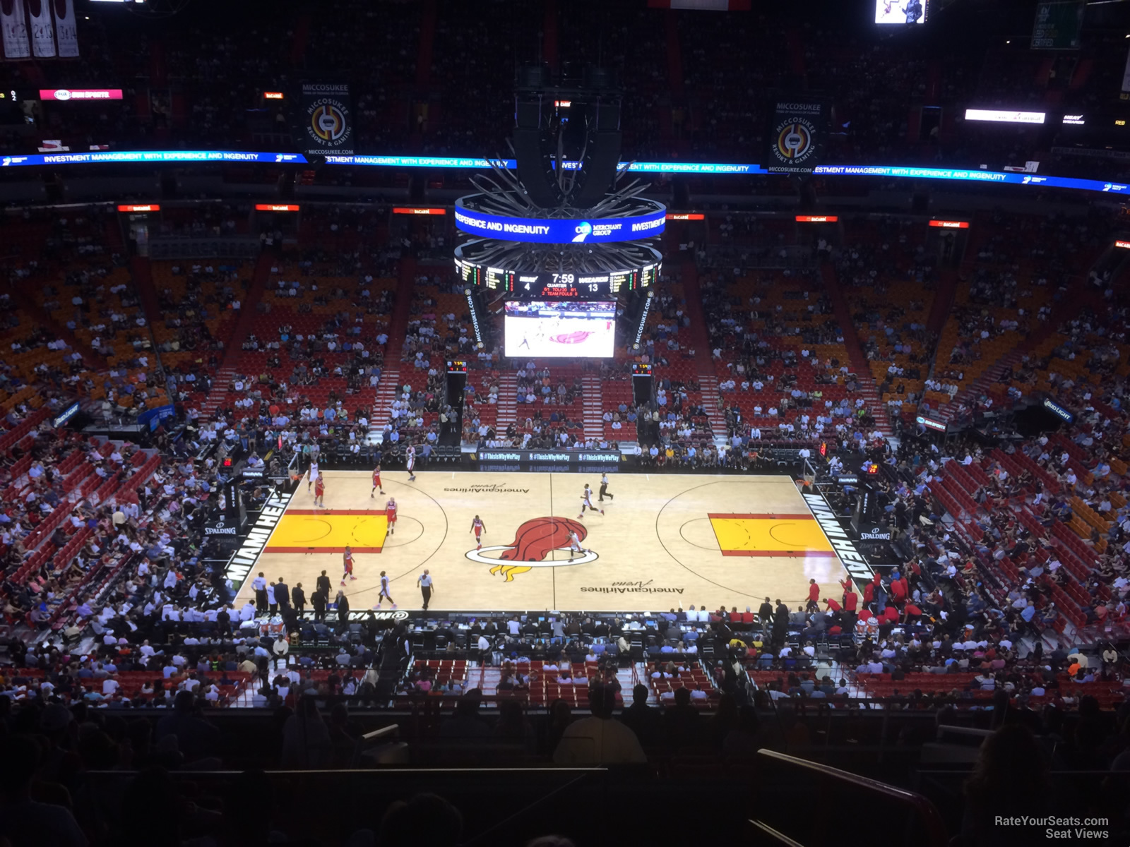 Americanairlines Arena Section 309 Miami Heat