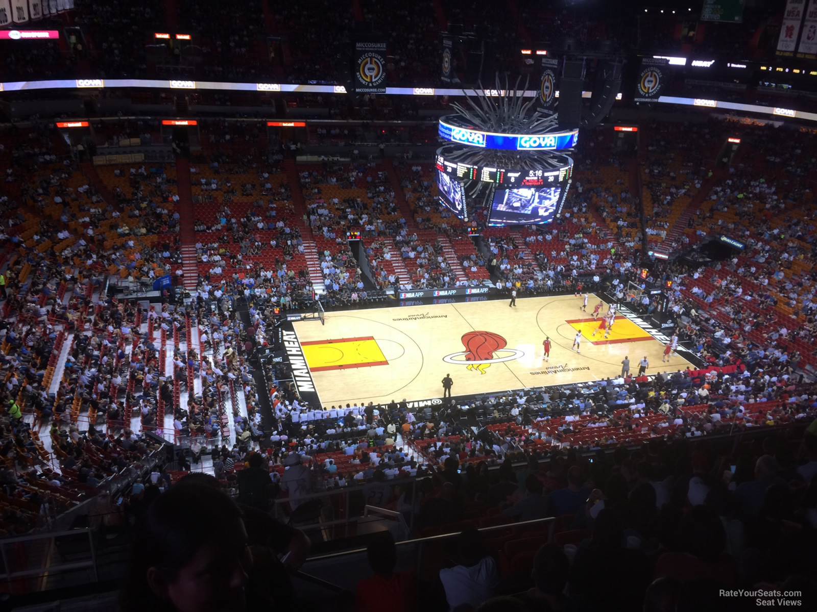 Section 311 seat view