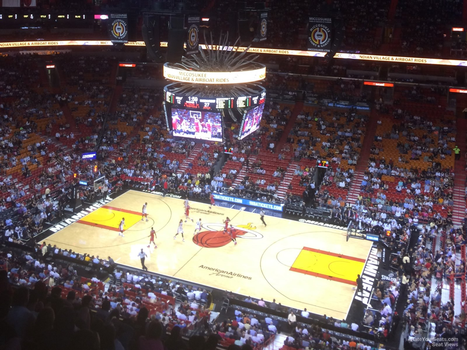 Americanairlines Arena Section 322 Miami Heat