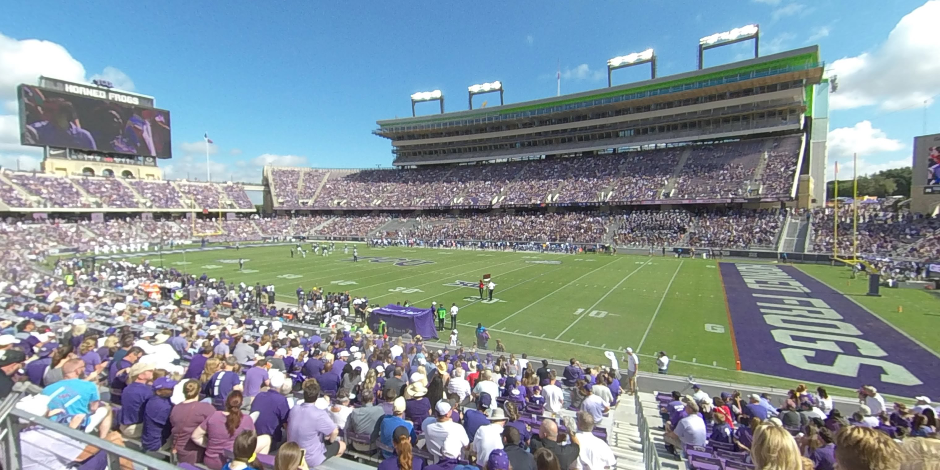 360° Photo From Amon Carter Stadium Section 102
