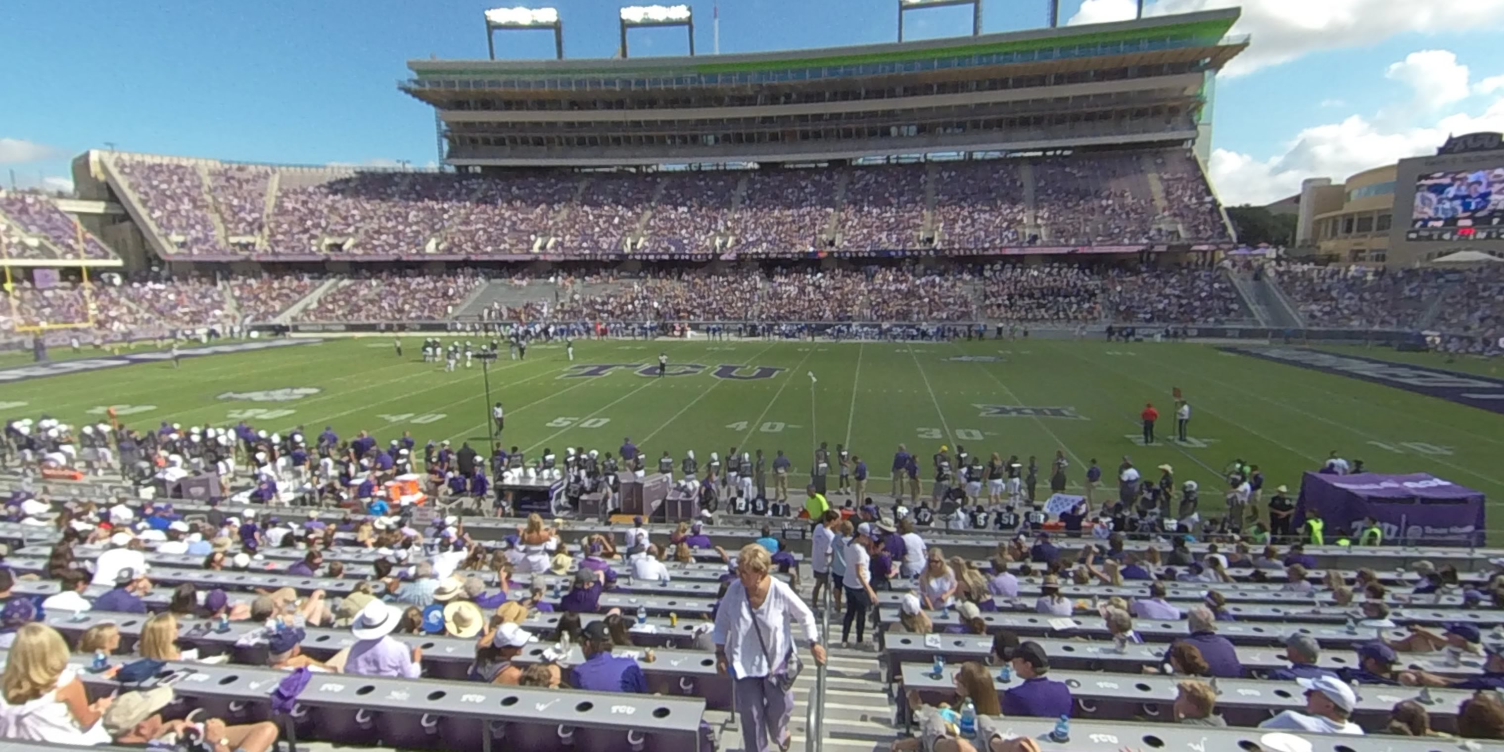 360° Photo From Amon Carter Stadium Section 104