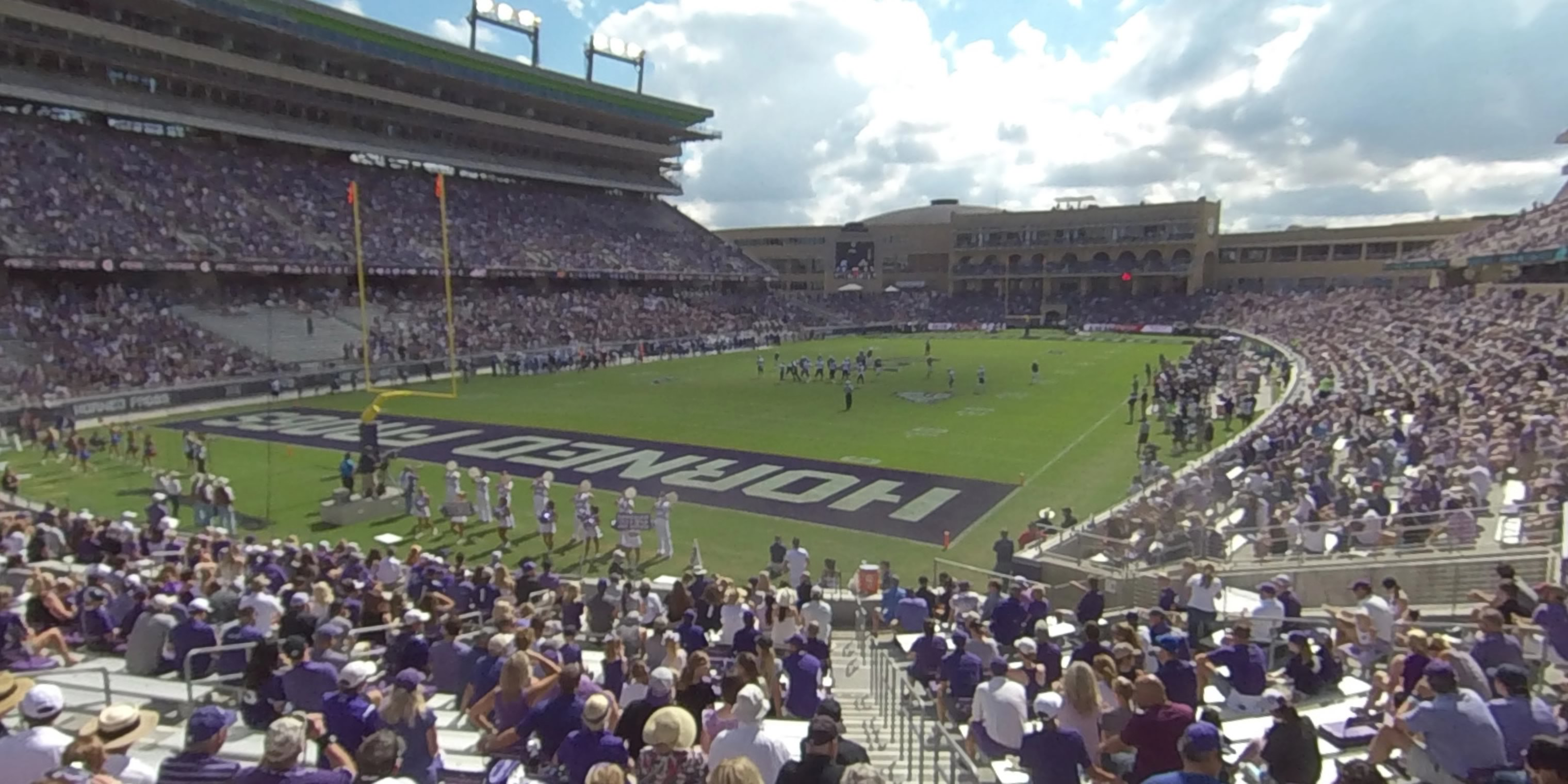 360° Photo From Amon Carter Stadium Section 112
