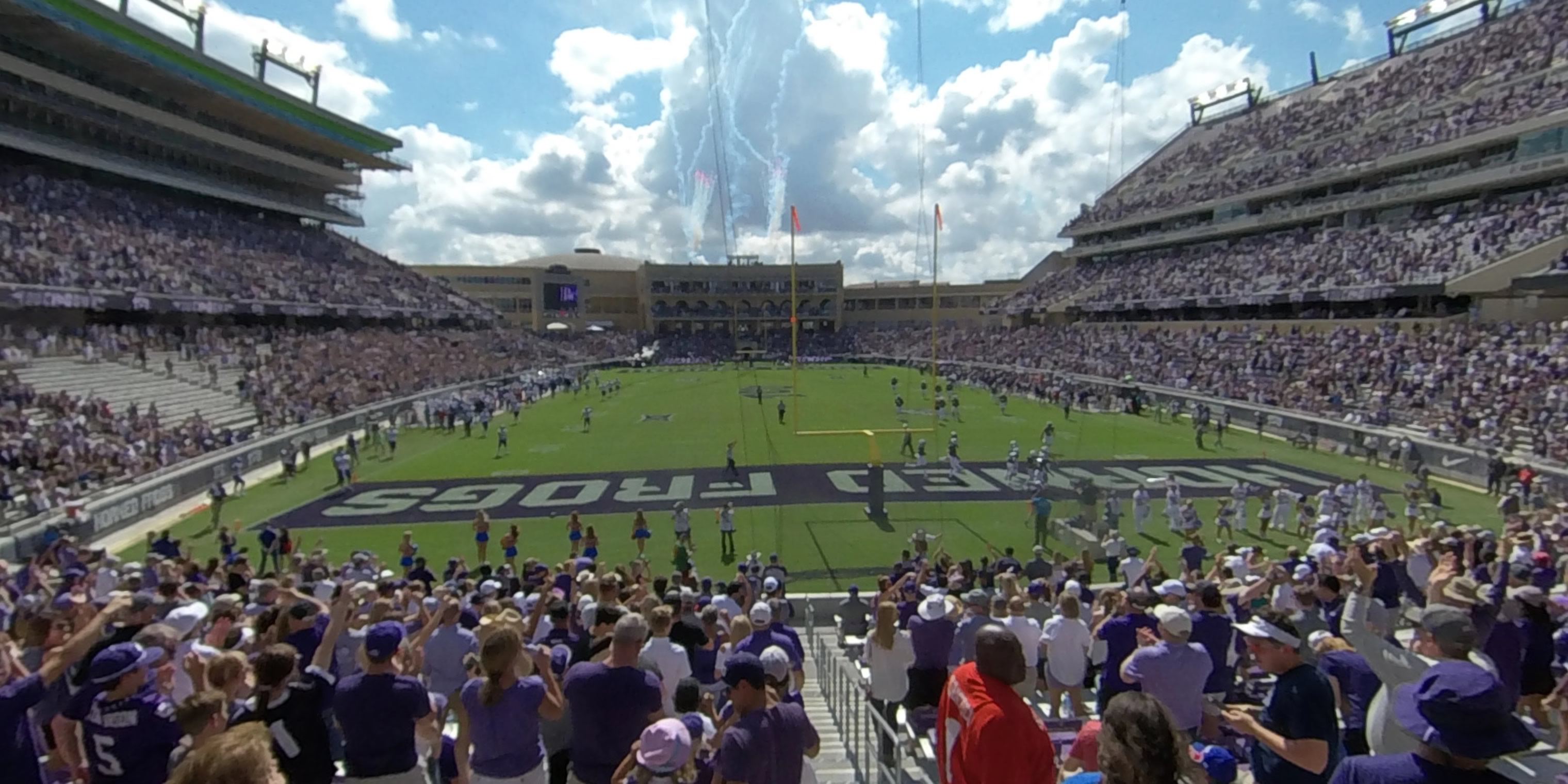 360° Photo From Amon Carter Stadium Section 116
