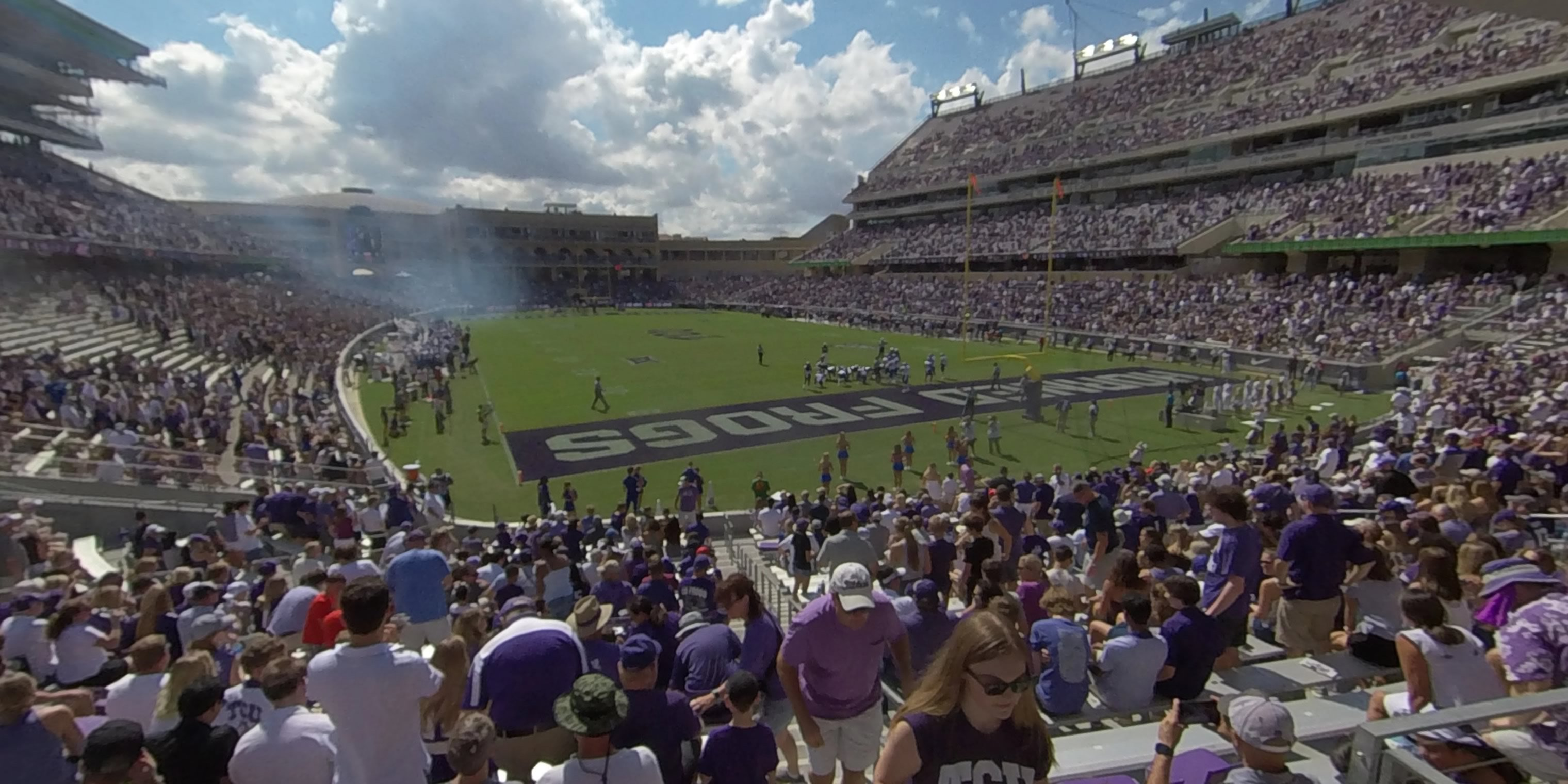 360° Photo From Amon Carter Stadium Section 117