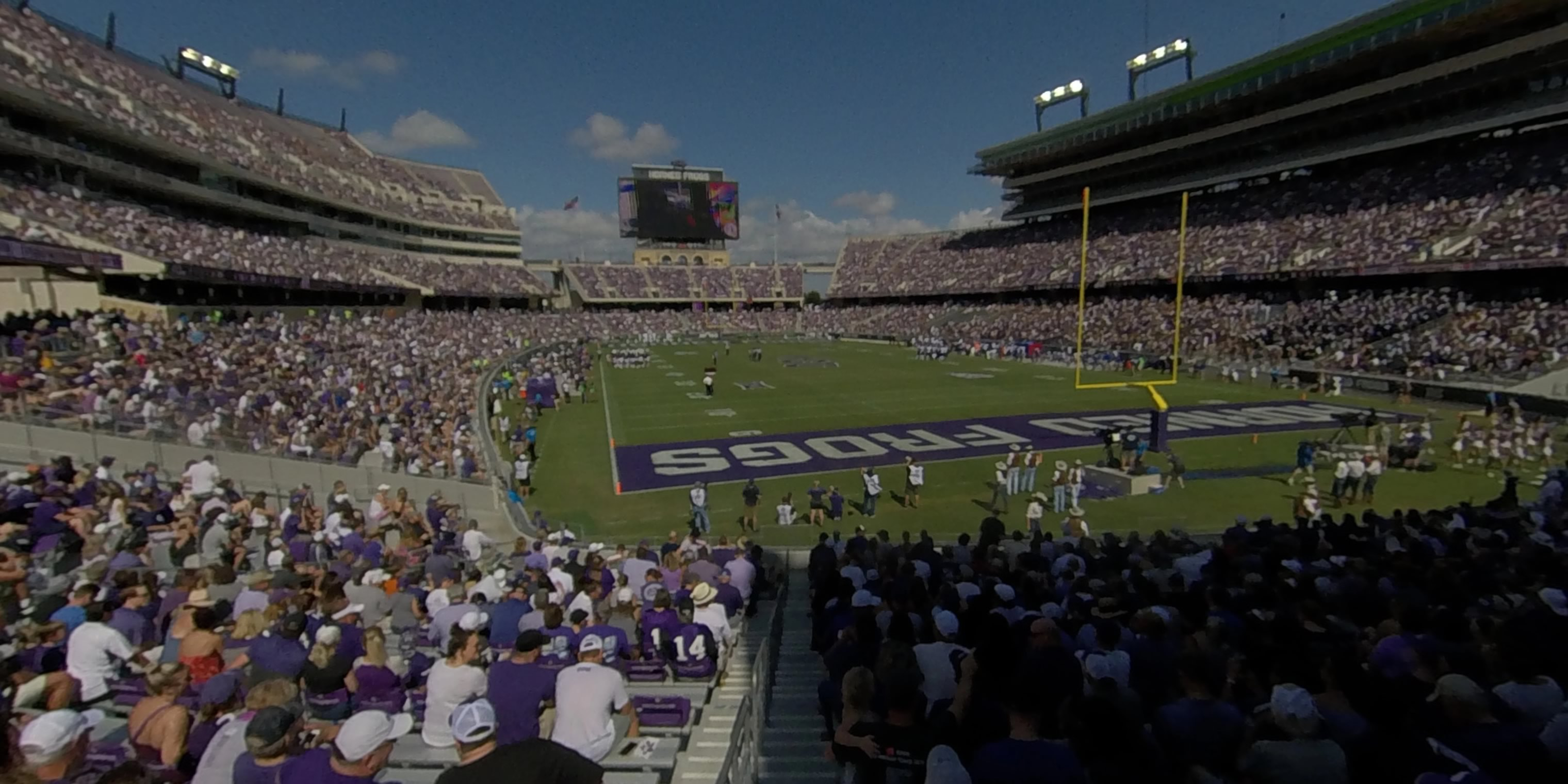 360° Photo From Amon Carter Stadium Section 136