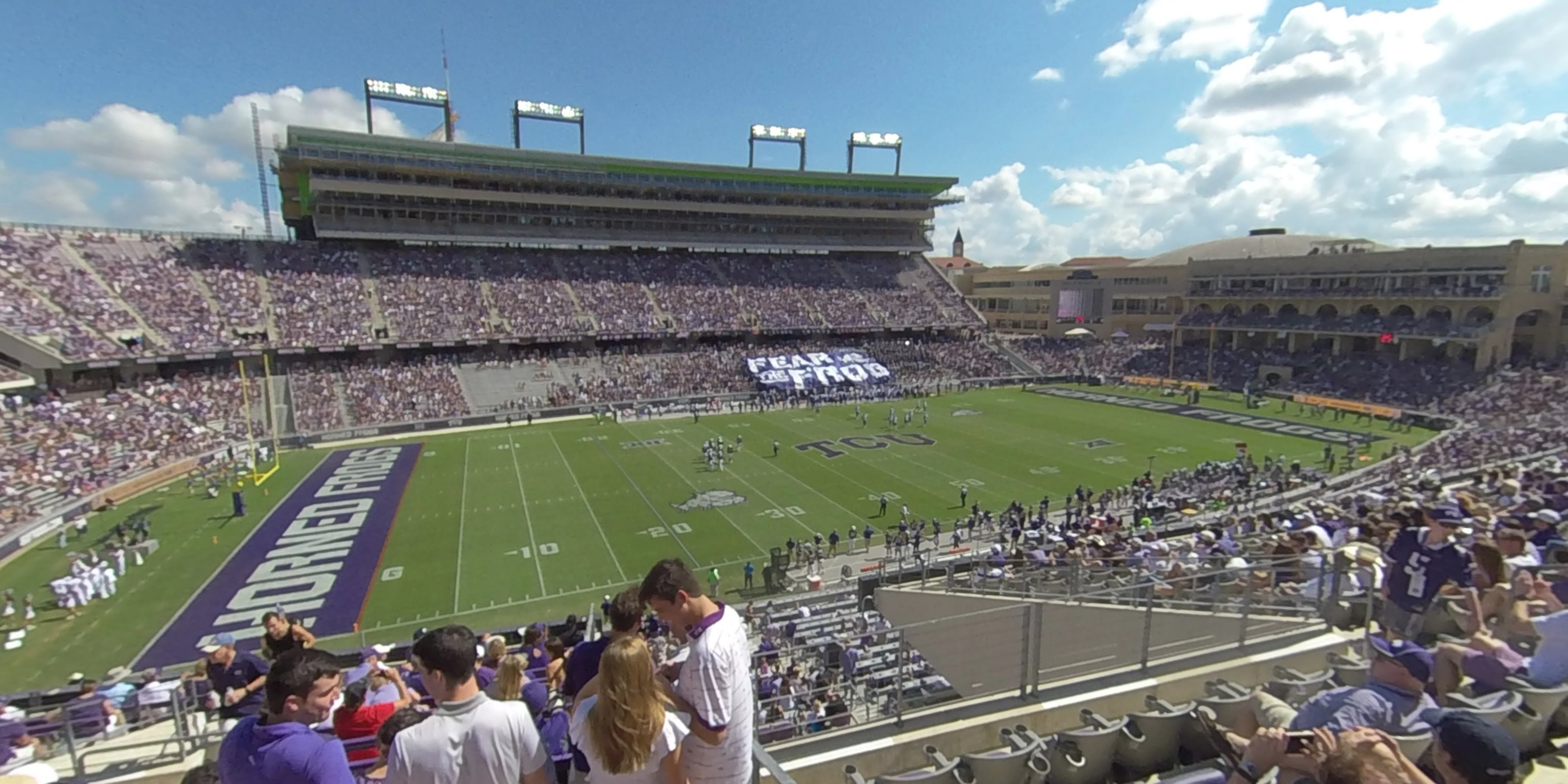 360° Photo From Amon Carter Stadium Section 211