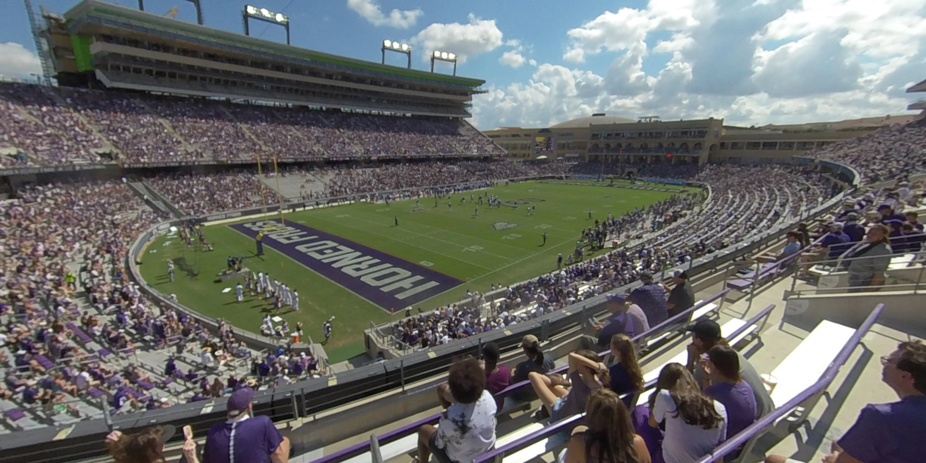 360° Photo From Amon Carter Stadium Section 214