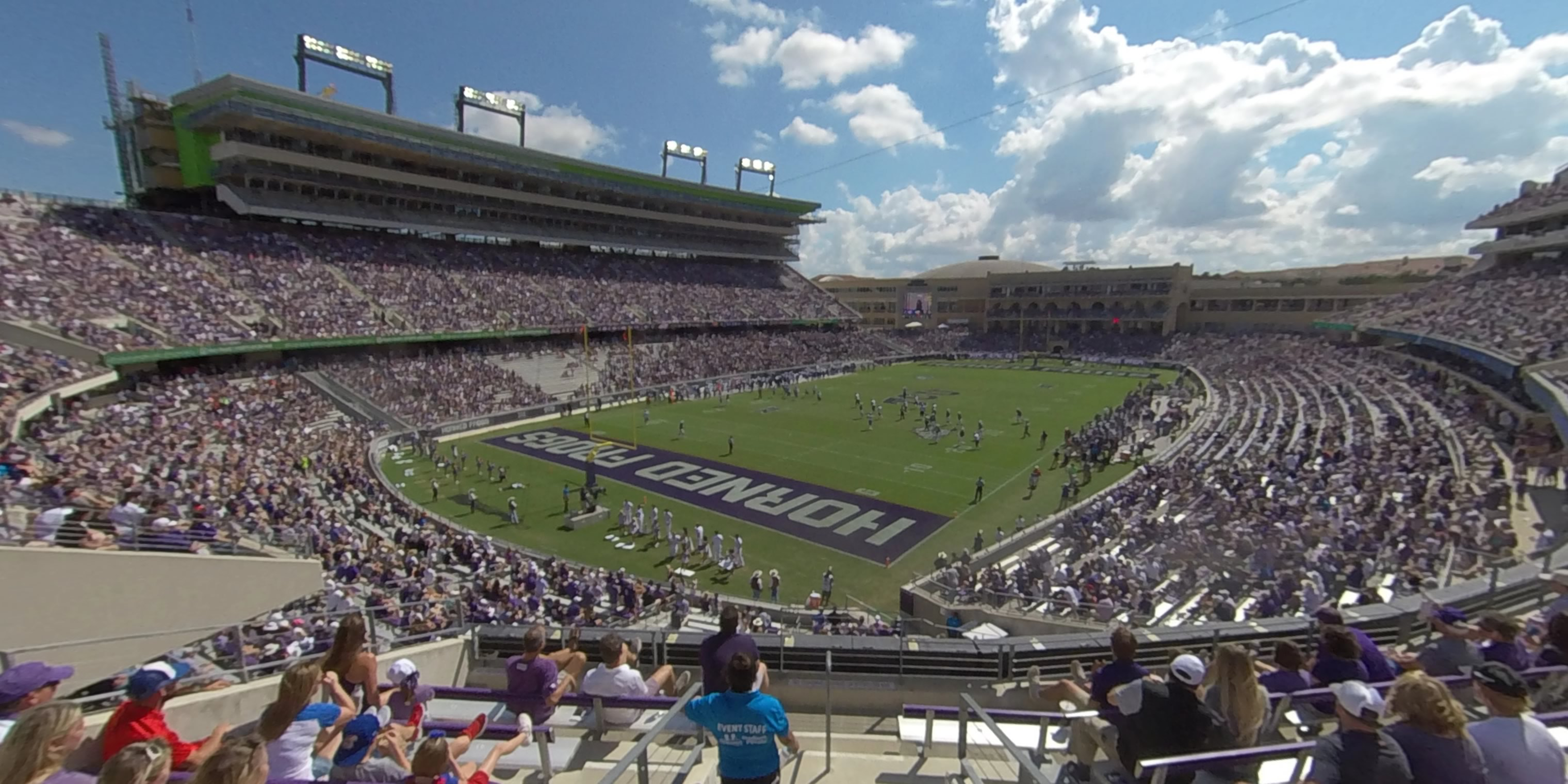 360° Photo From Amon Carter Stadium Section 216
