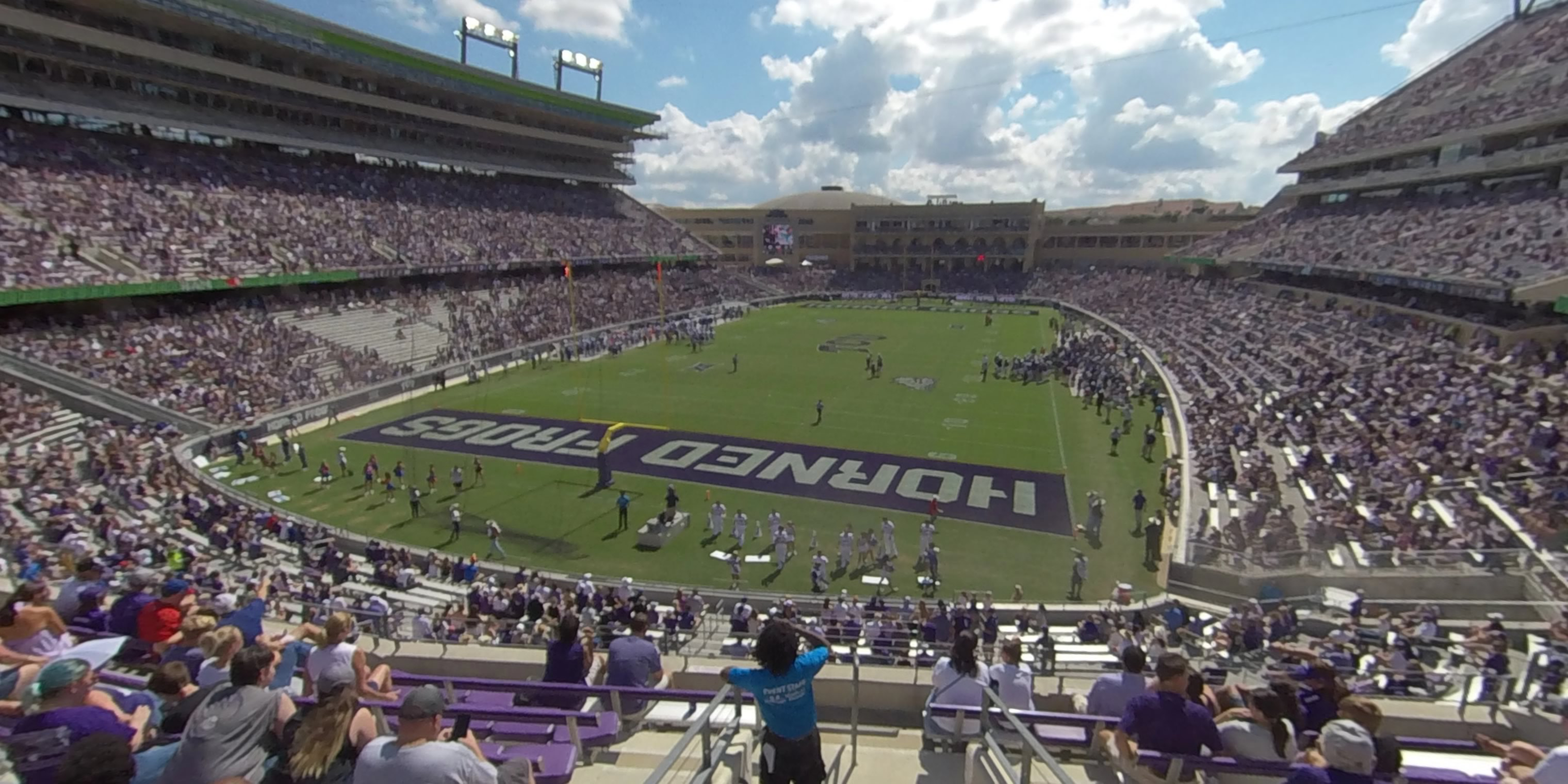 360° Photo From Amon Carter Stadium Section 219