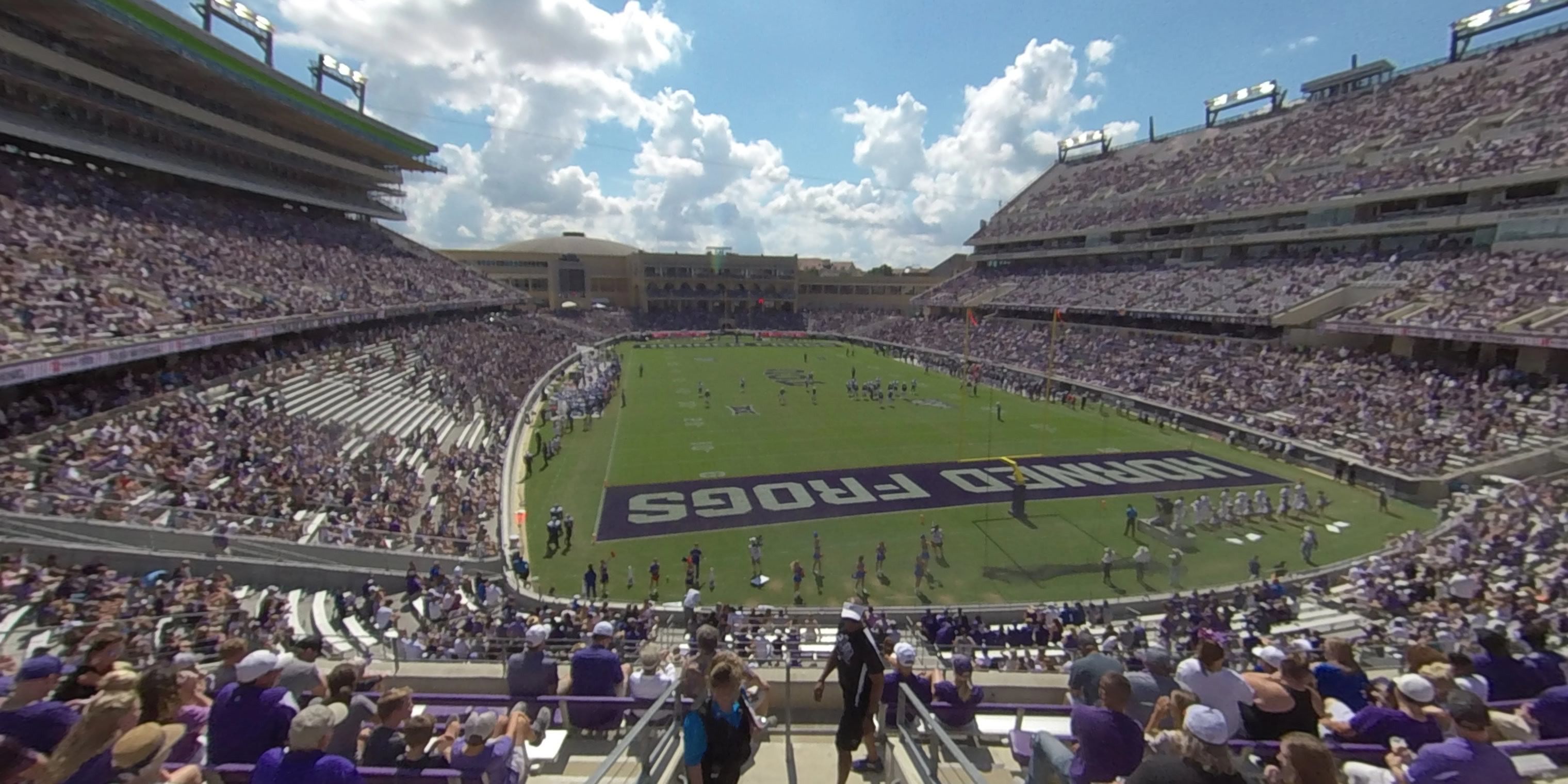 360° Photo From Amon Carter Stadium Section 223