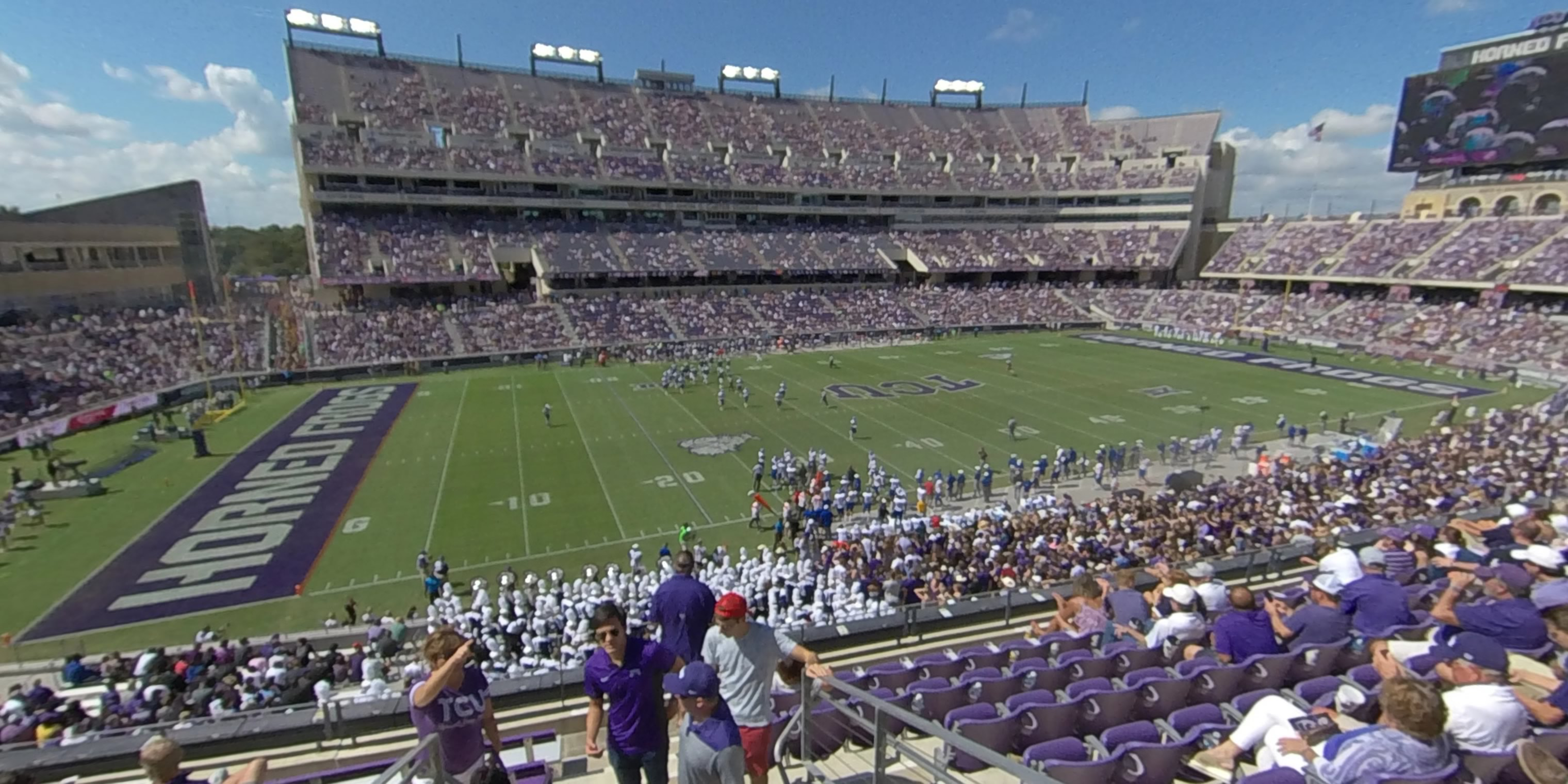 360° Photo From Amon Carter Stadium Section 237
